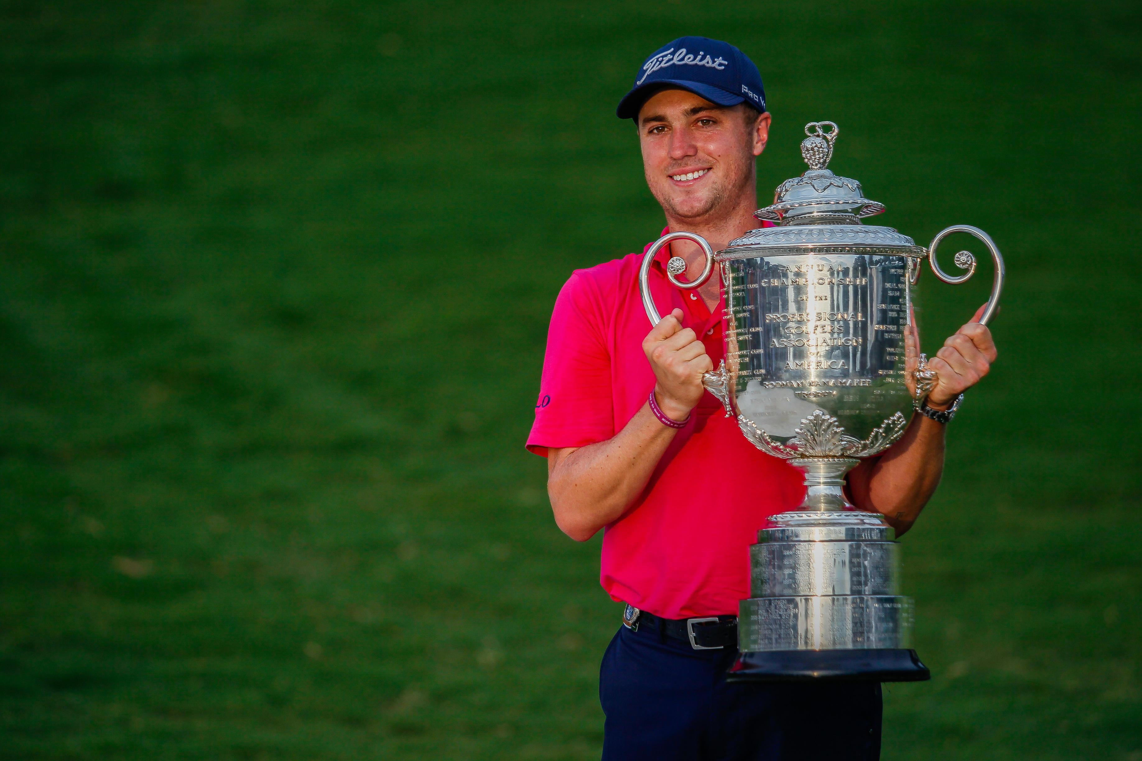Justin Thomas lifted the trophy in 2017