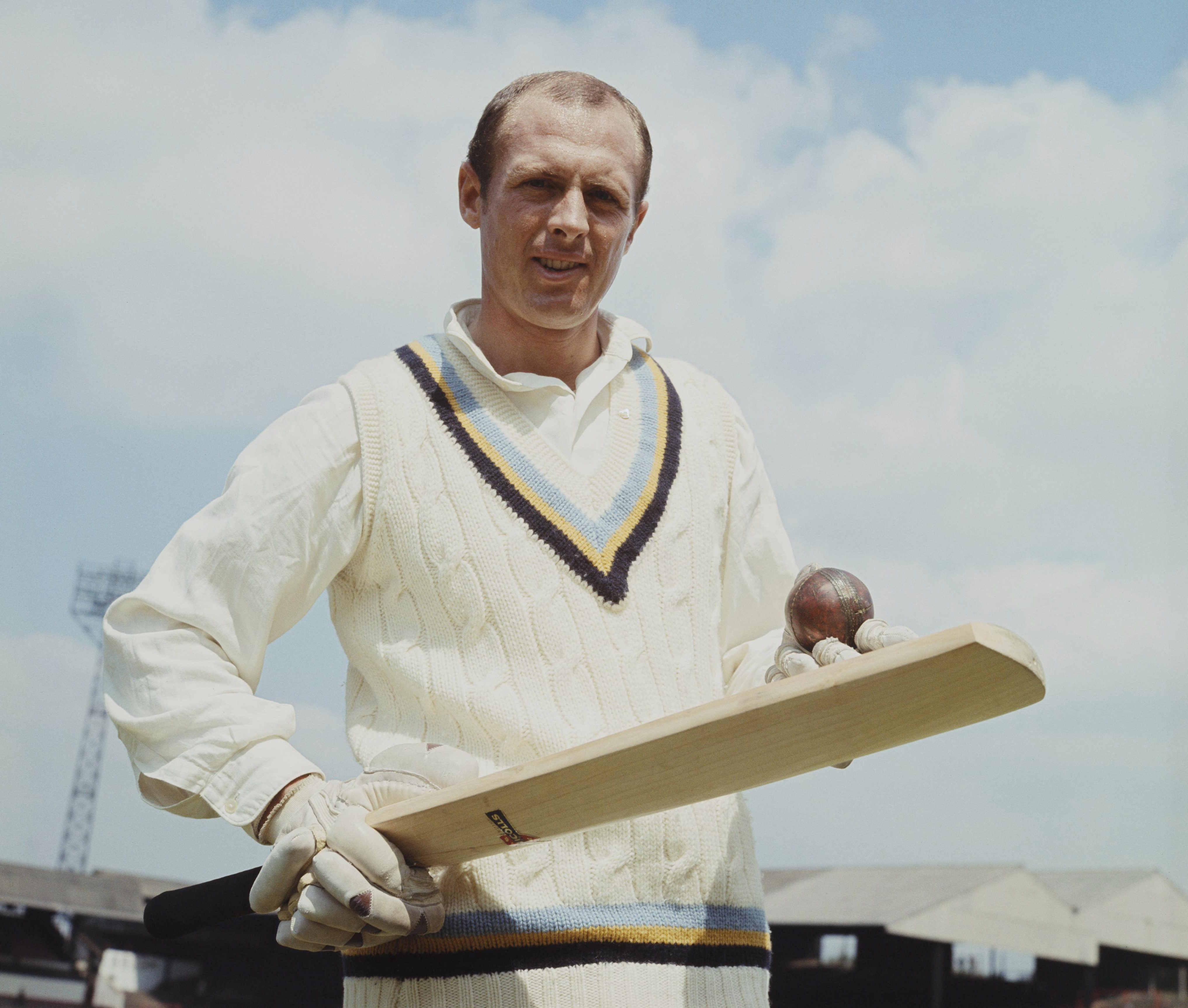 Boycott played 108 Test matches for England and scored 22 centuries
