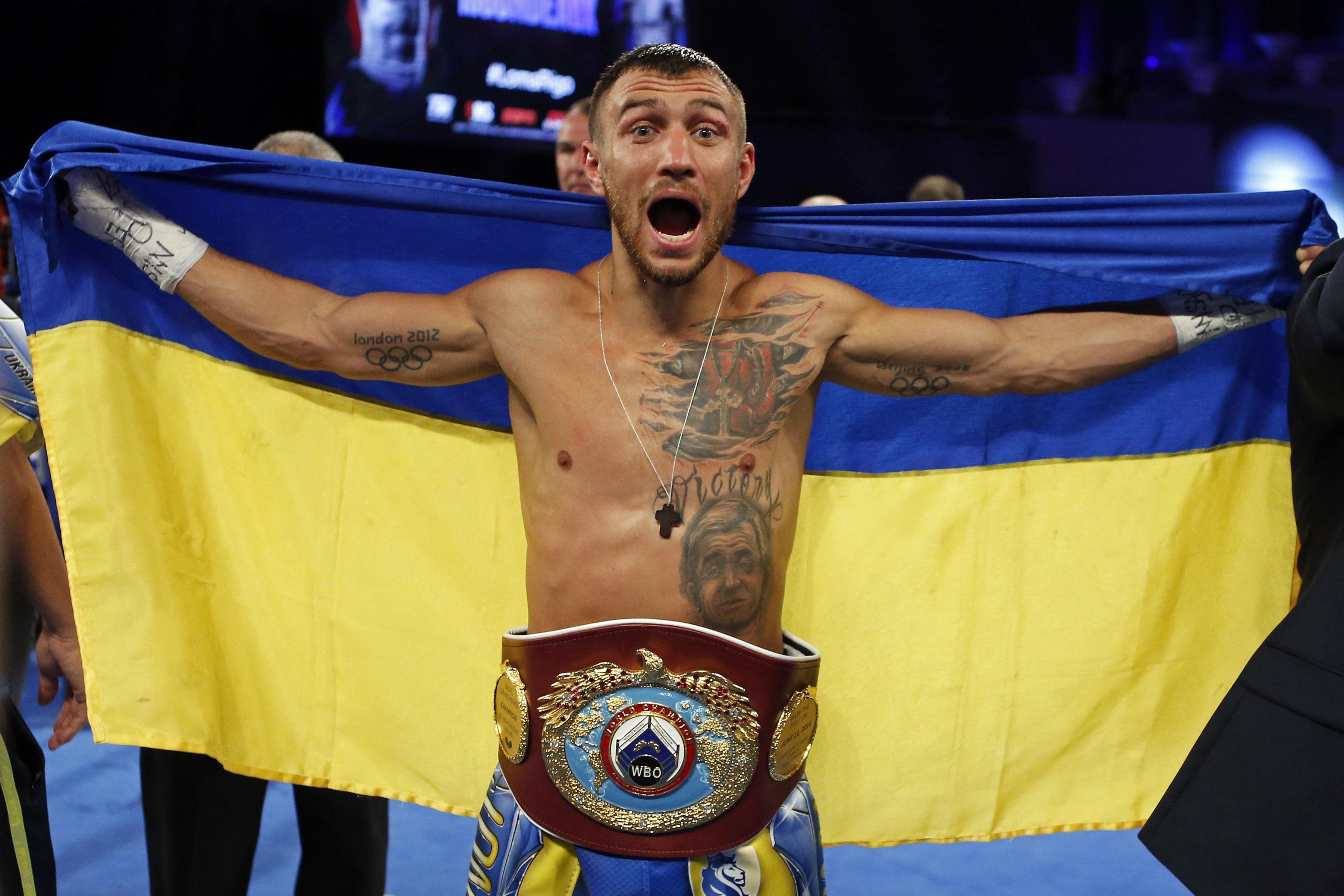 The Filipino legend also has eyes on a showdown with Vasyl Lomachenko