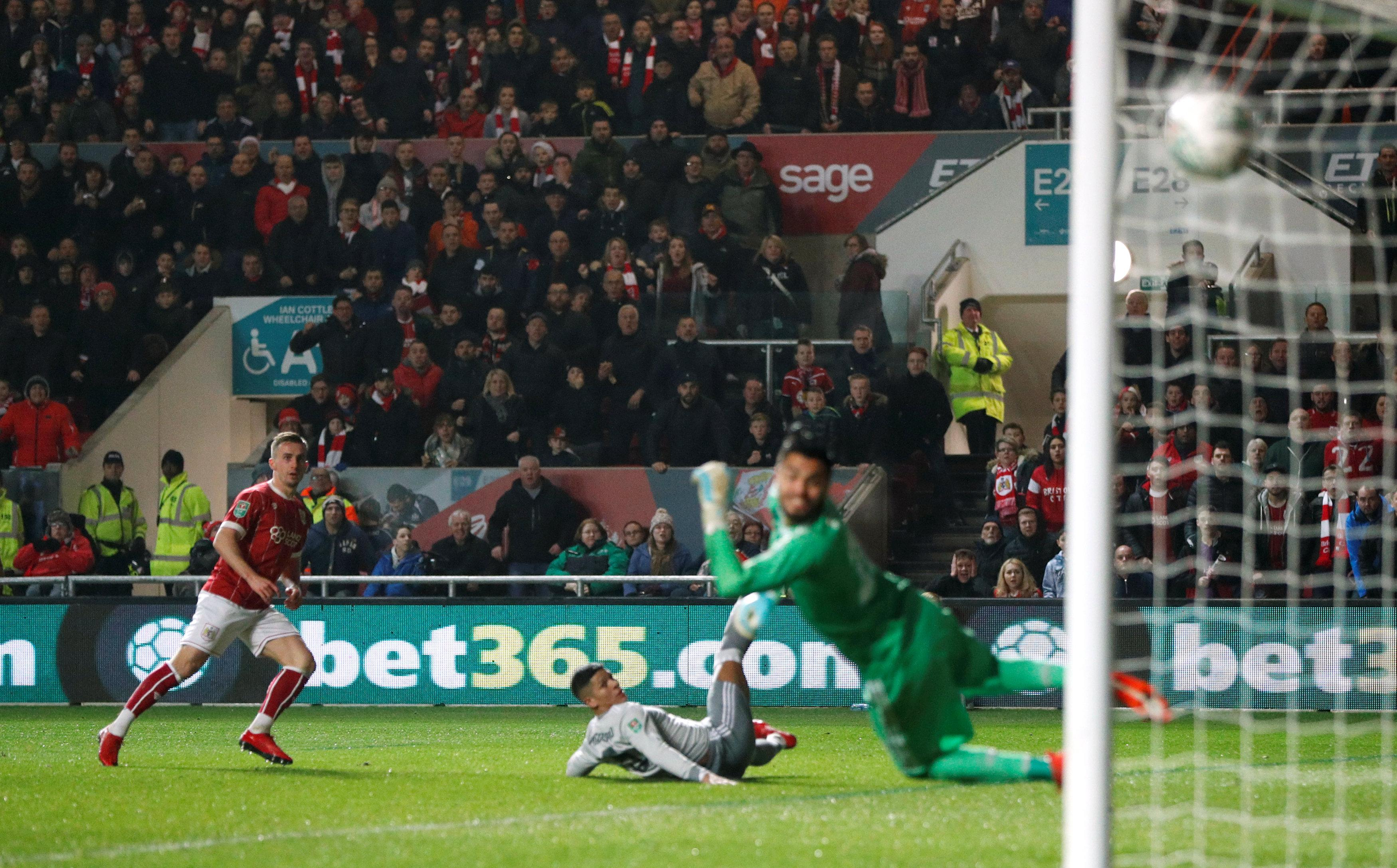 Joe Bryan scored a stunner to help beat Manchester United in last year's League Cup