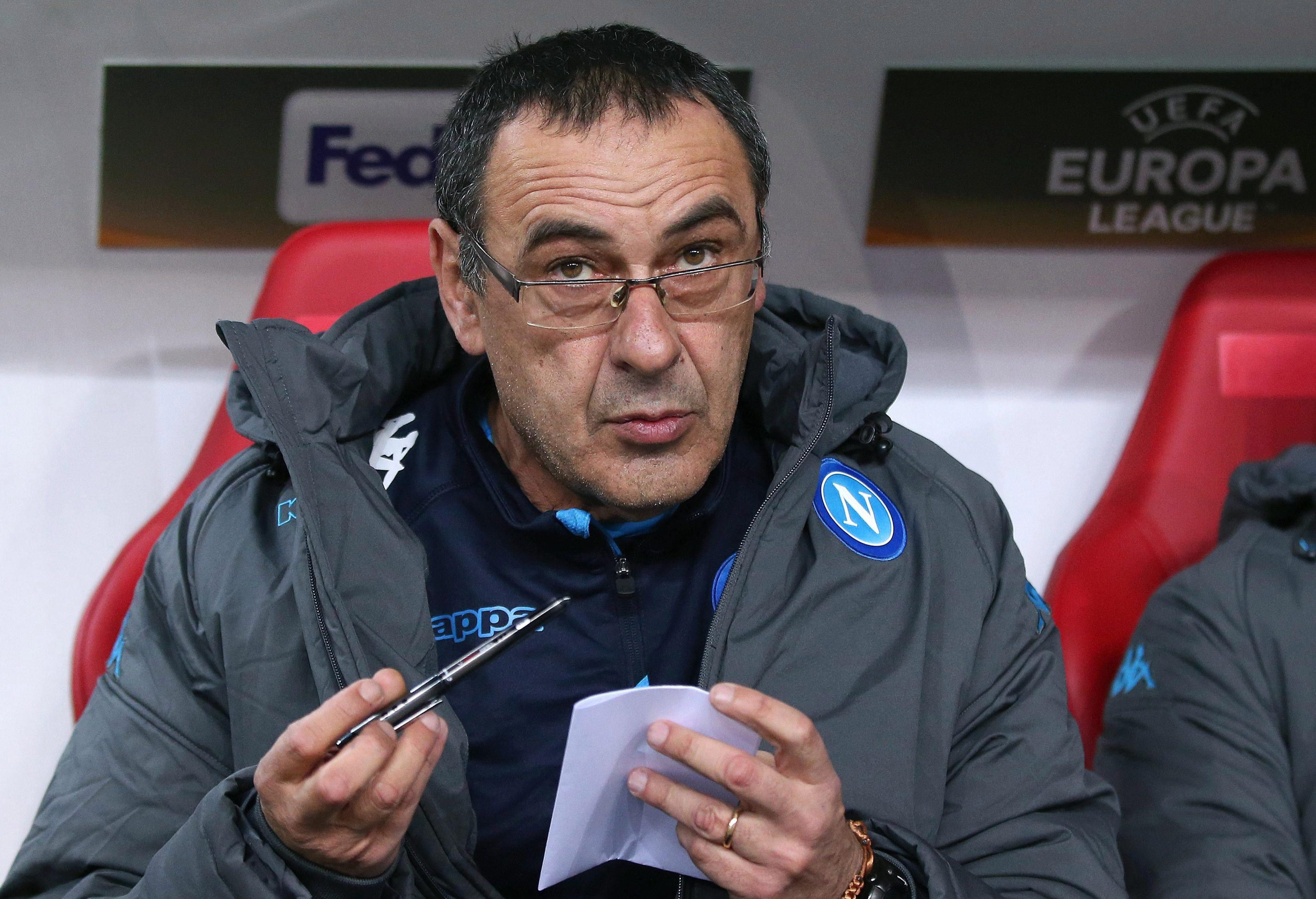 Sarri is a student of the game and never switches off
