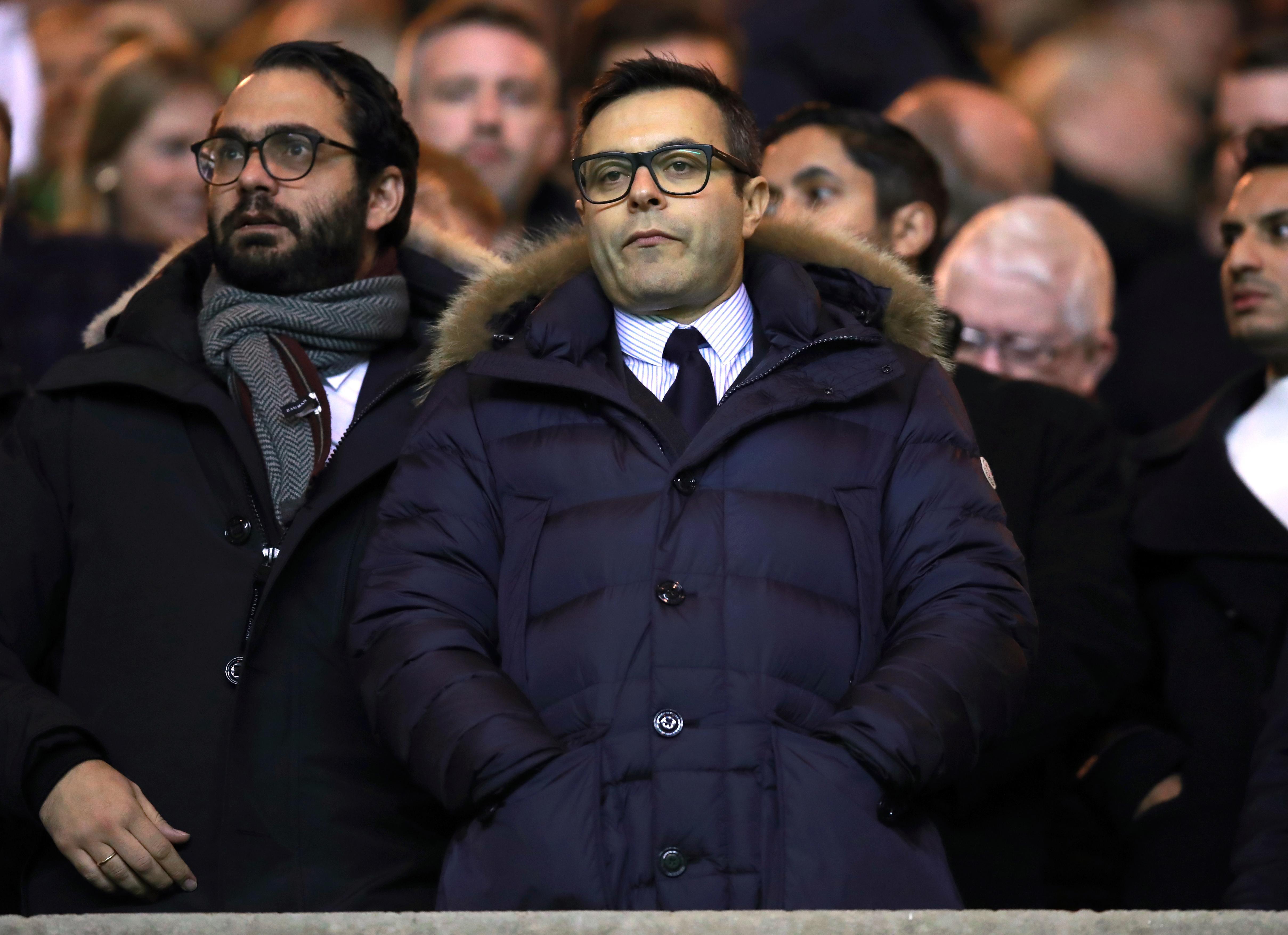 Leeds United chairman Andrea Radrizzani owns Eleven
