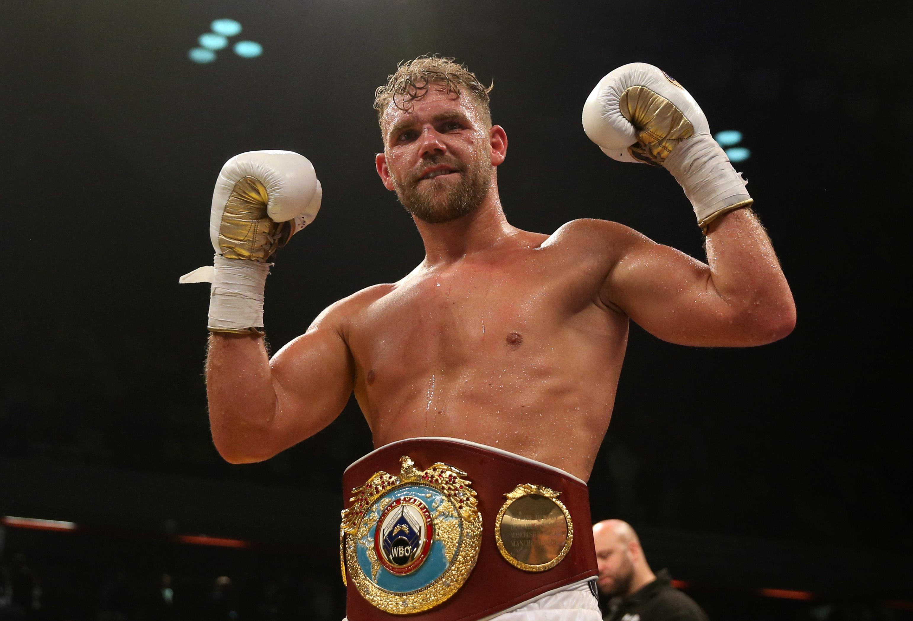Billy Joe Saunders is the undefeated WBO middleweight champion