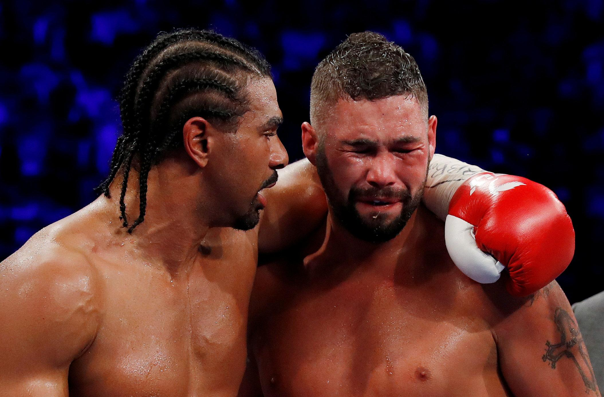 Tony Bellew fought David Haye twice at heavyweight and won both contests