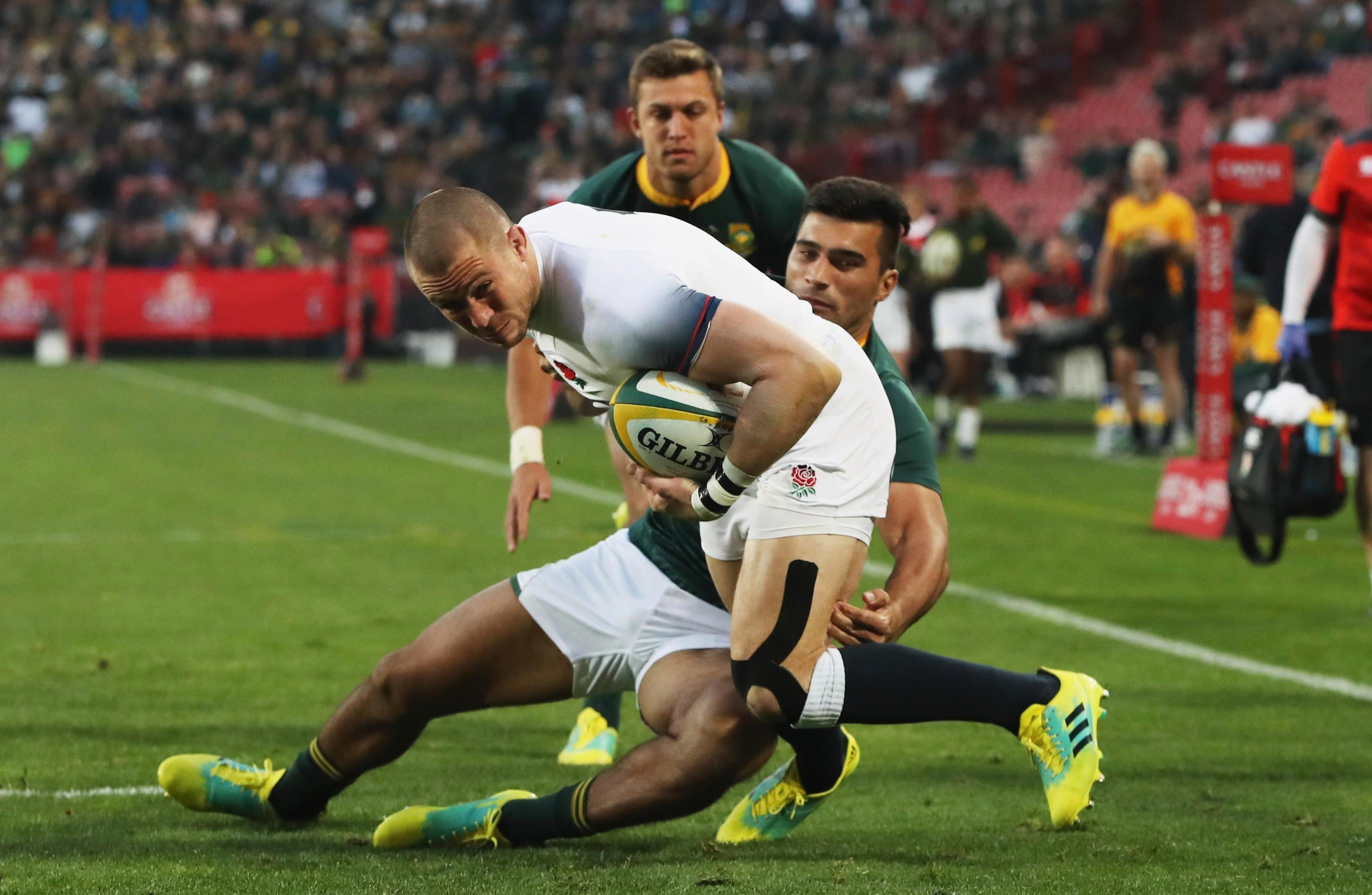 Mike Brown was accused of not trying his hardest in England's series loss to South Africa