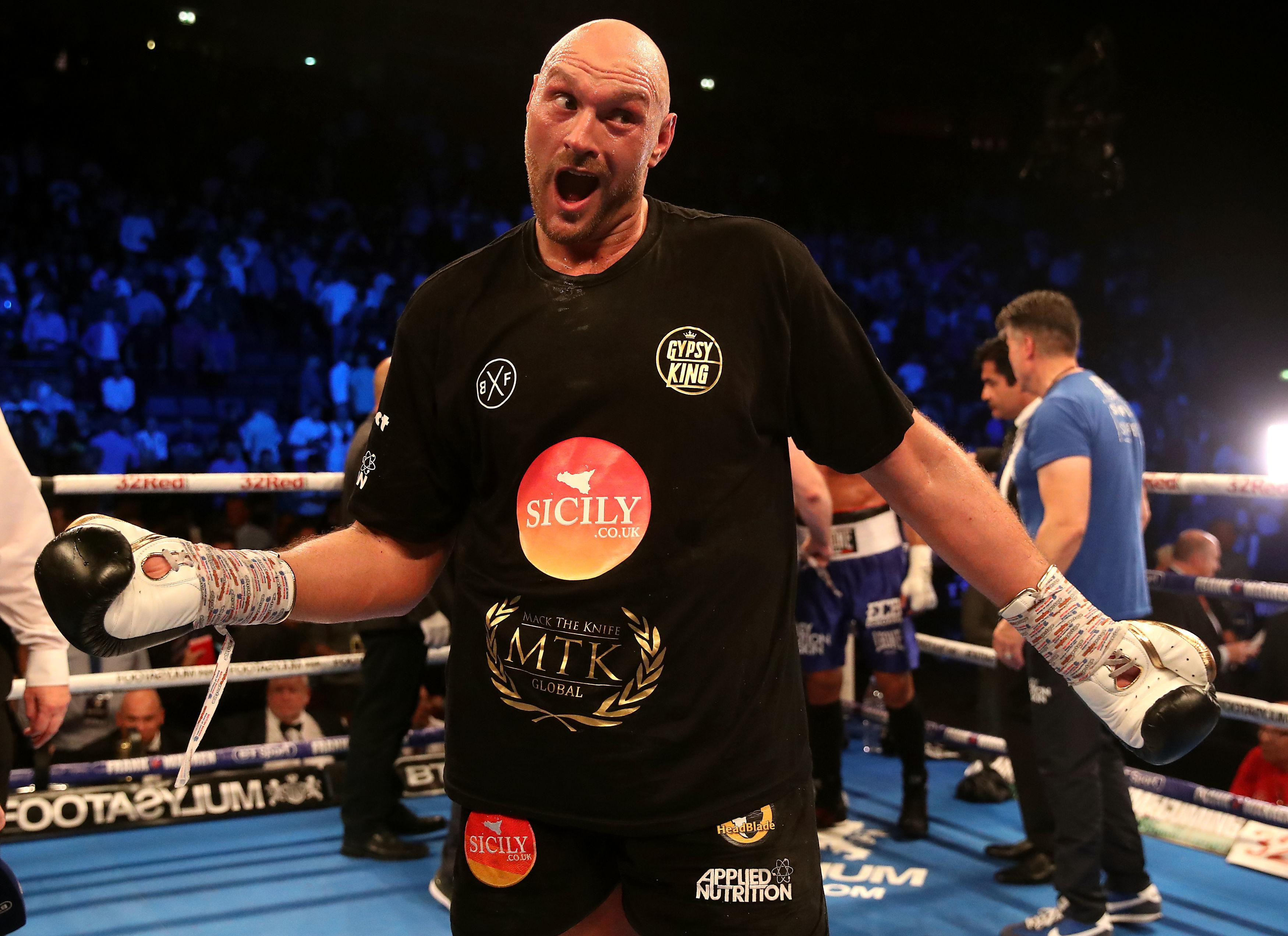Tyson Fury might not have impressed too many people with his comeback win, but he is adamant he will be back winning world titles, and soon