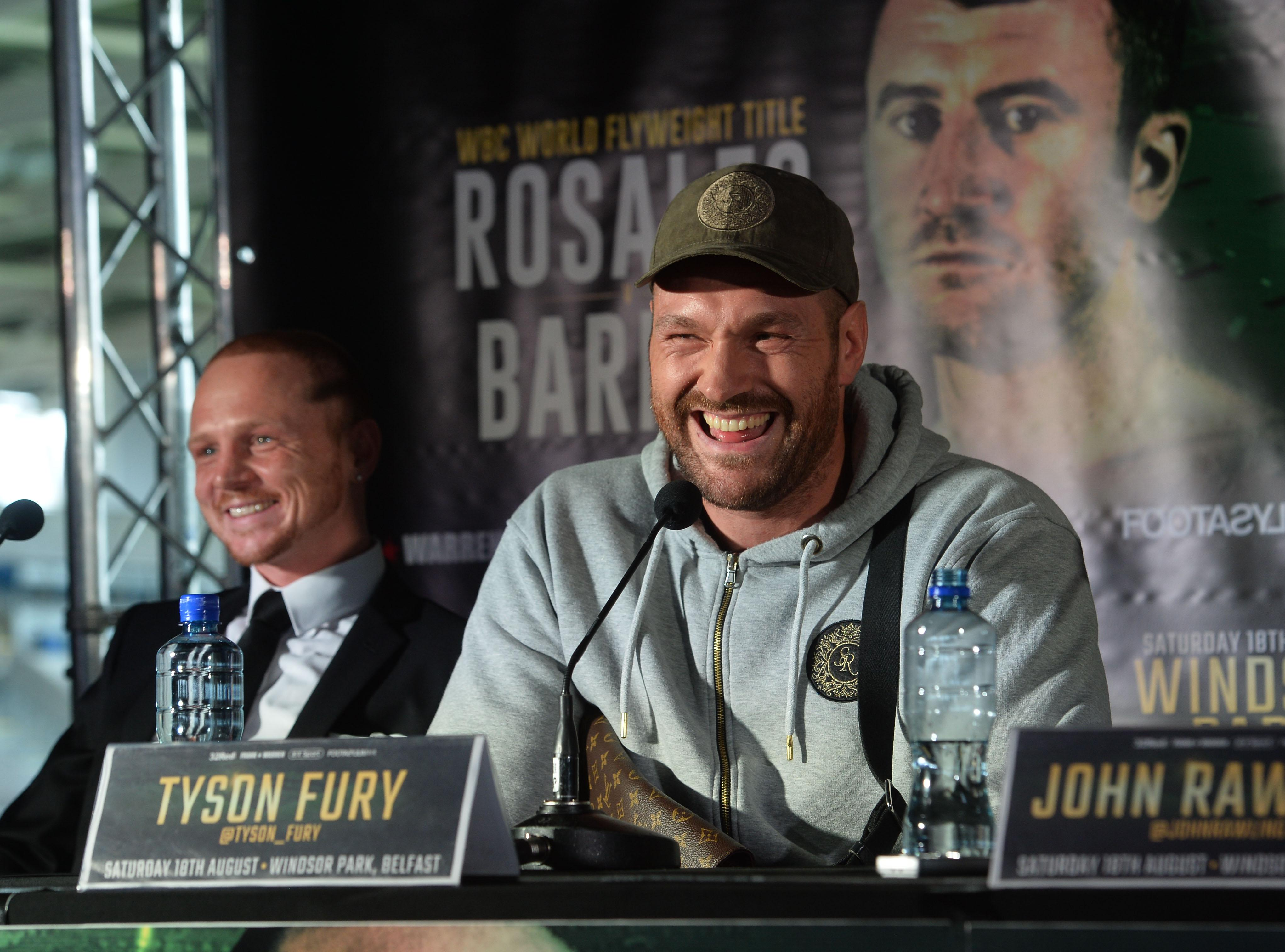 The ex-heavyweight king has vowed to not even smile when he fights Francesco Pianeta on August 18