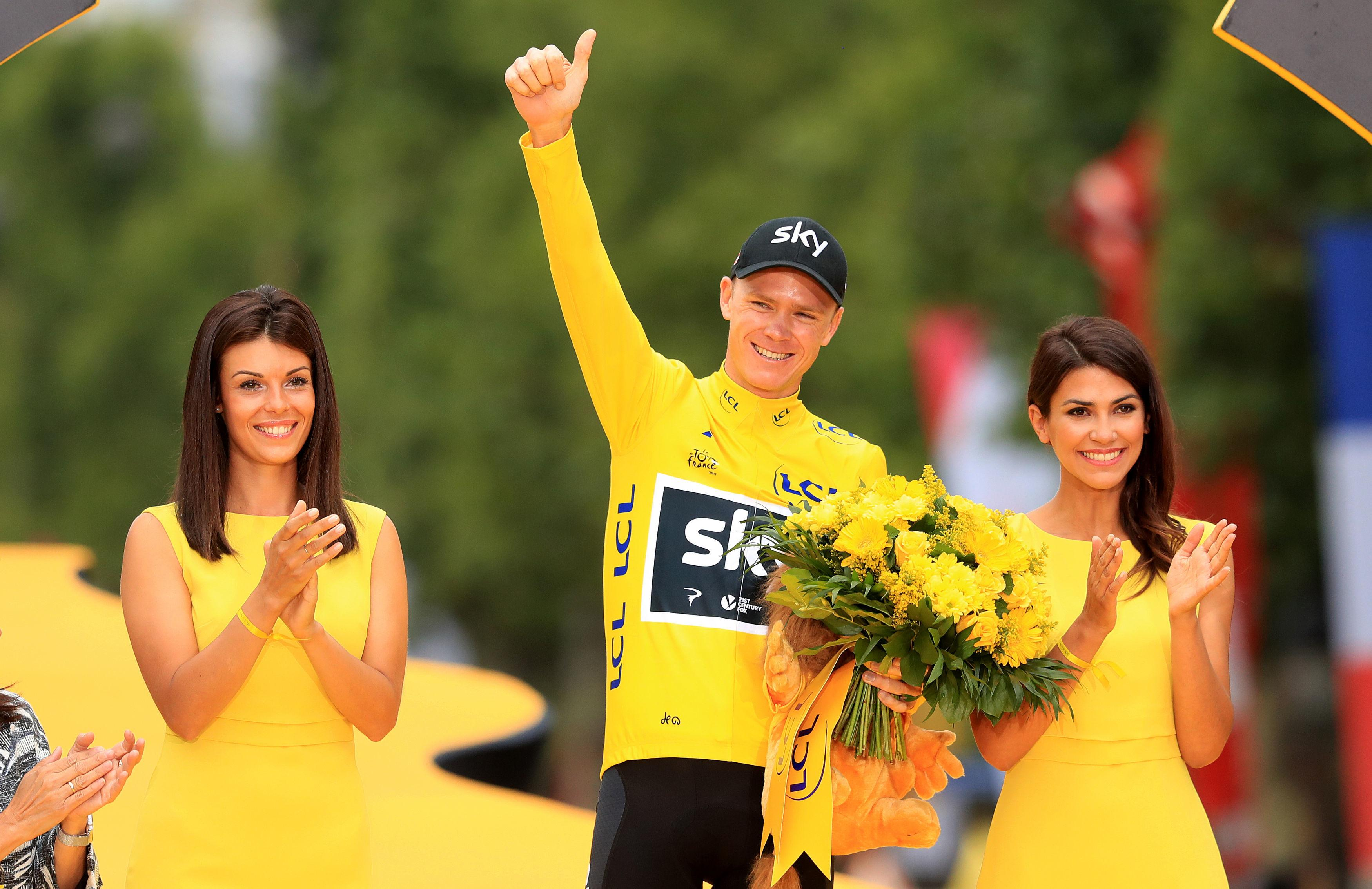 Chris Froome would go joint top of the all-time list with a fifth Tour de France victory