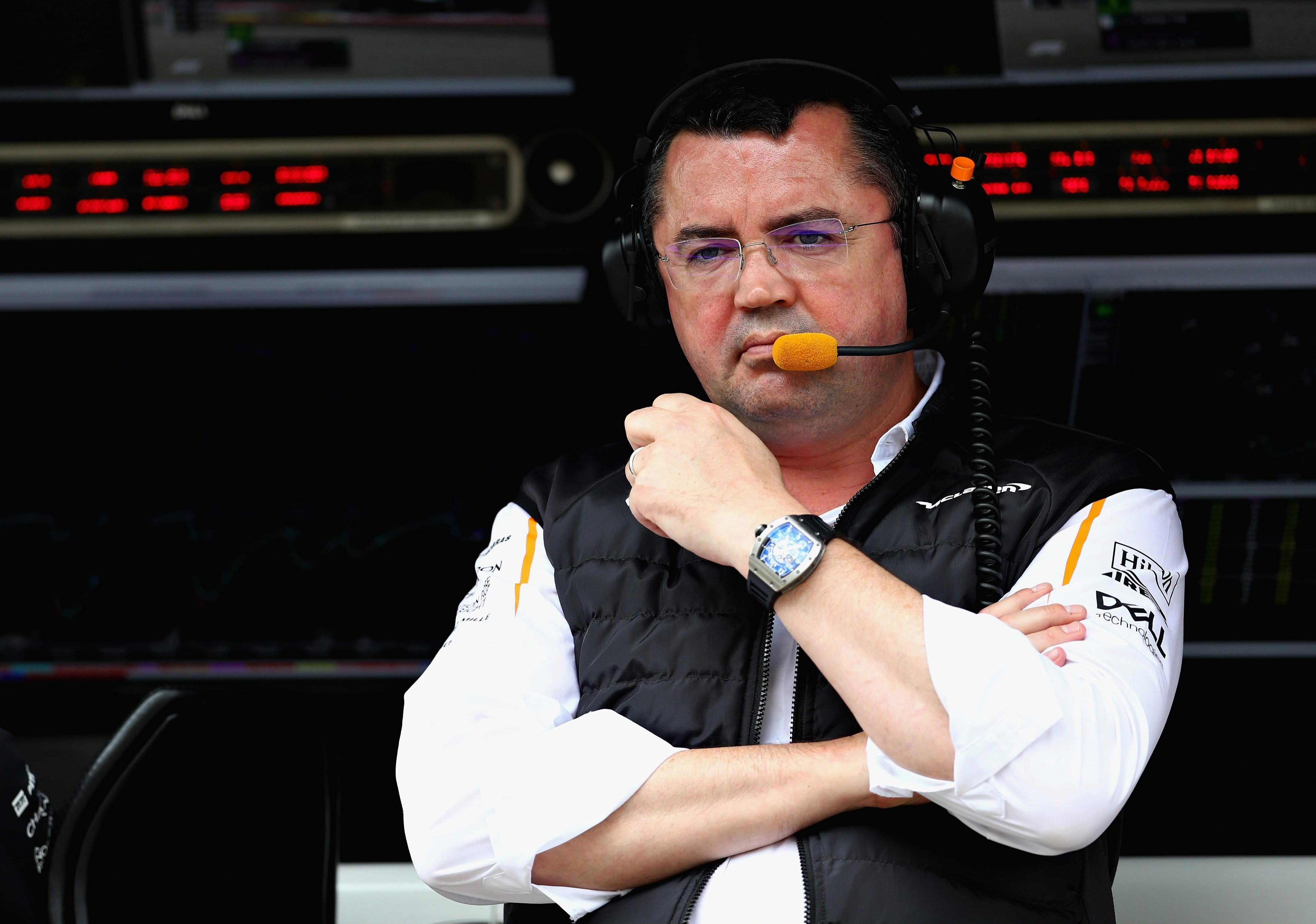 Boullier took over the role in 2014