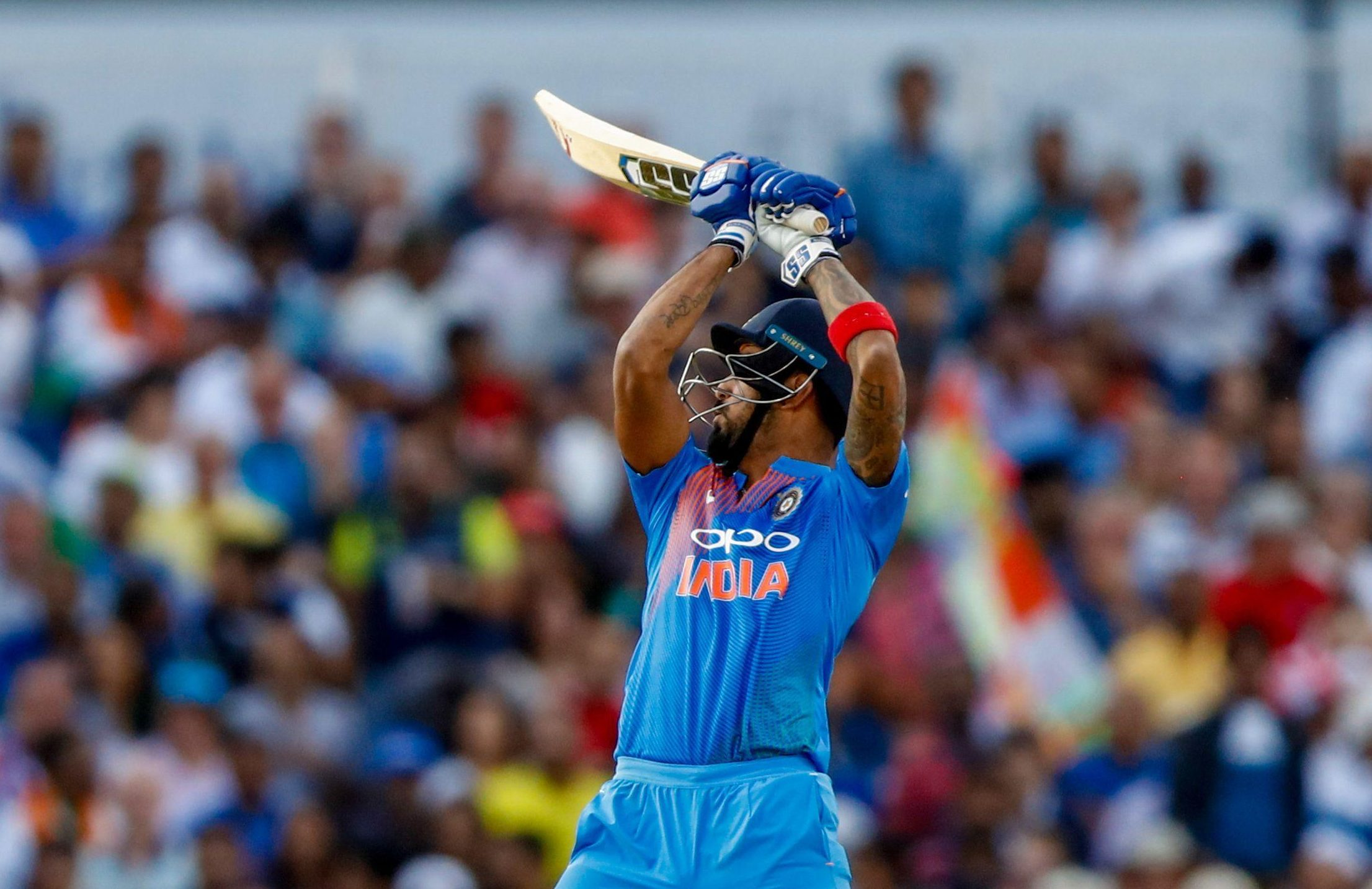 KL Rahul made light work of the victory target with a stunning exhibition of batting