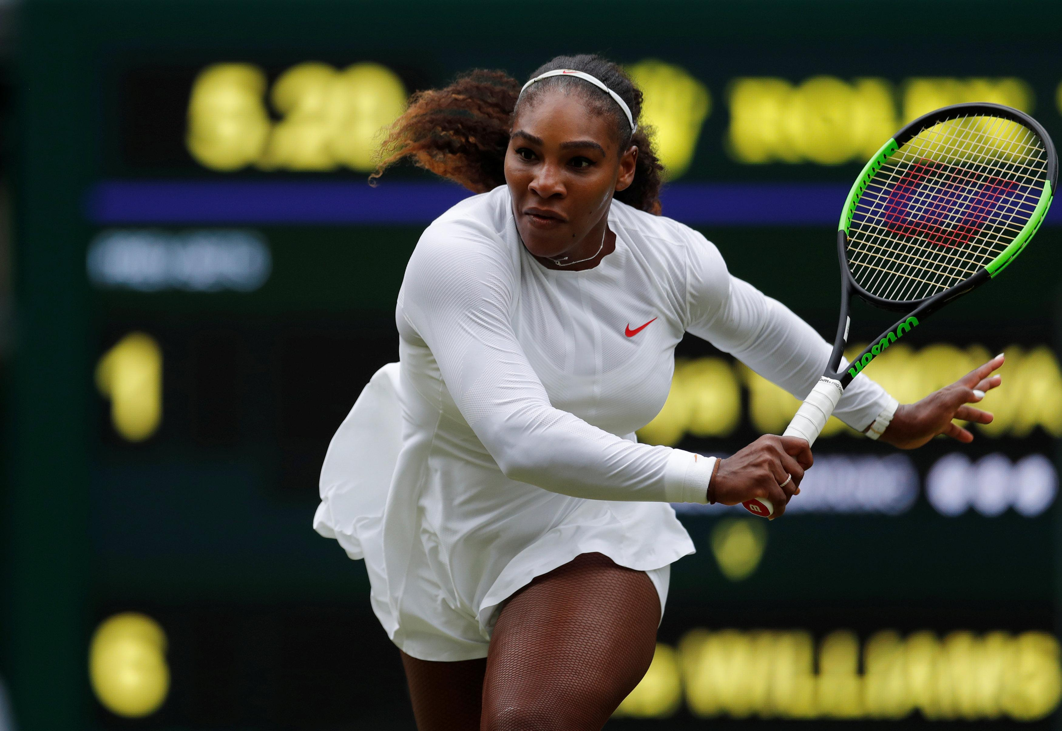 Serena Williams remains one of the favourites to lift the trophy