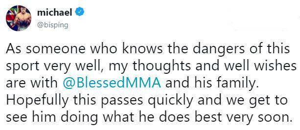 British MMA legend Michael Bisping spotted a change in Holloway