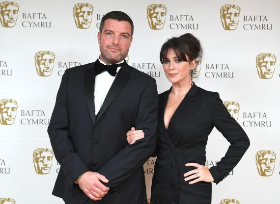 Eve is joined by her real-life husband Bradley Freegard as her on-screen other half Evan Howells