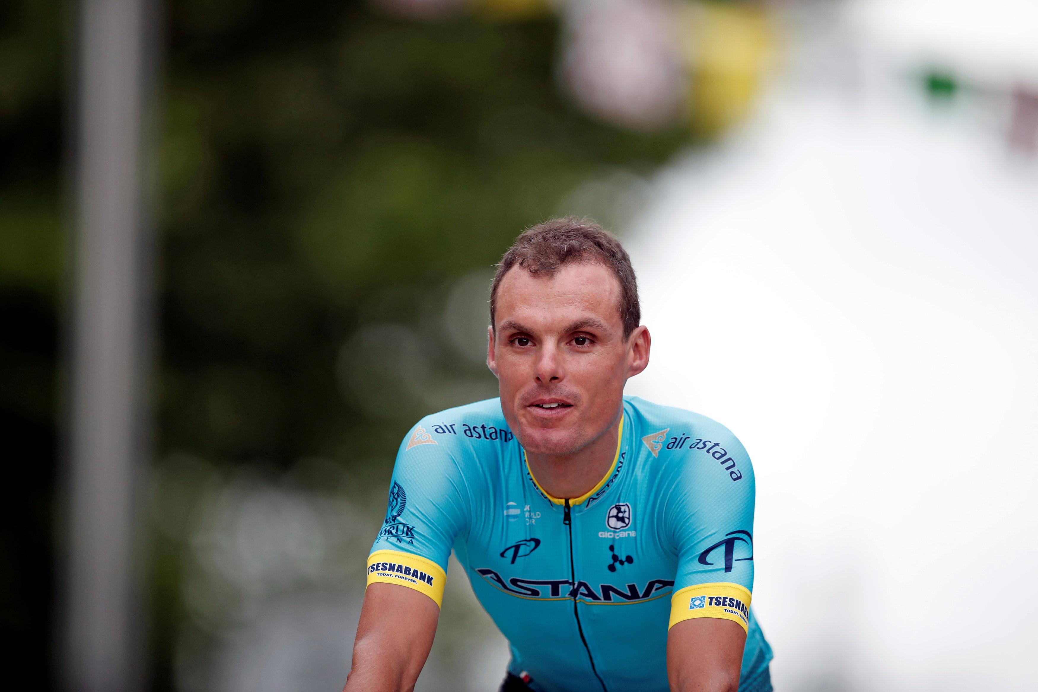 Luis Leon Sanchez was an unfortunate victim of a crash at the Tour de France