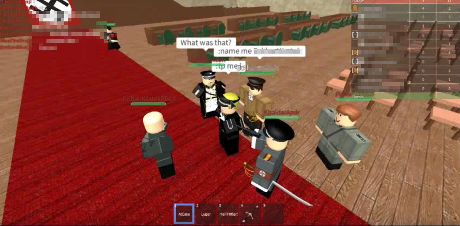 Roblox Kids Game Haven For Jihadi Nazi And Kkk Roleplay