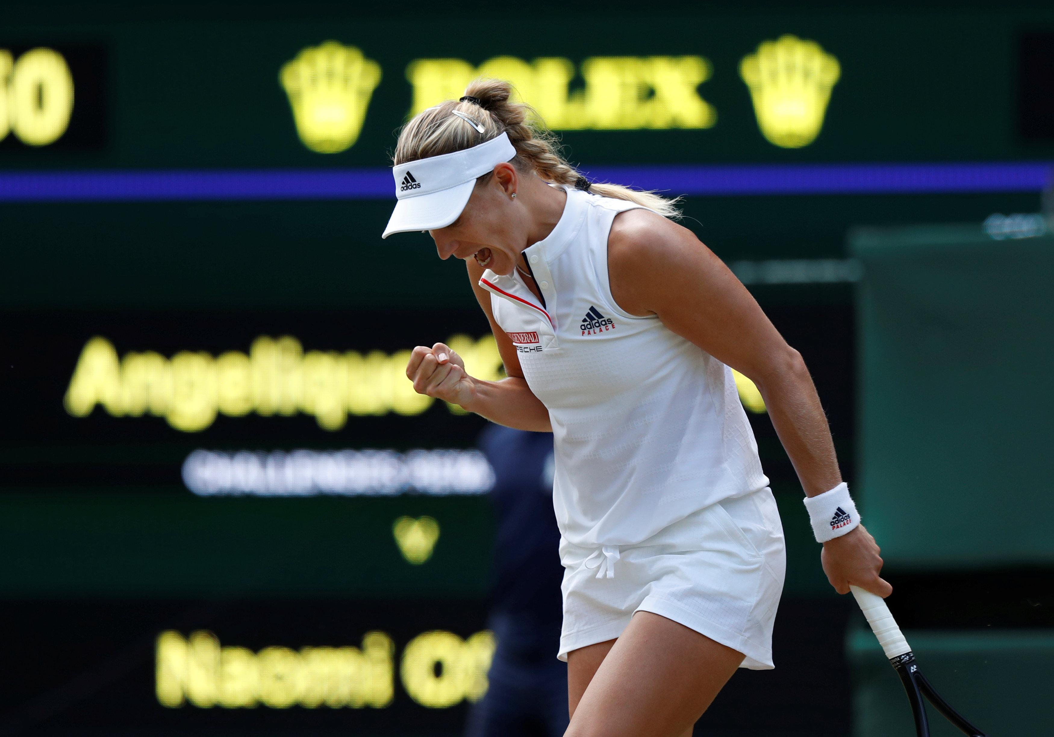 Angelique Kerber is one star aiming to go all the way at Wimbledon