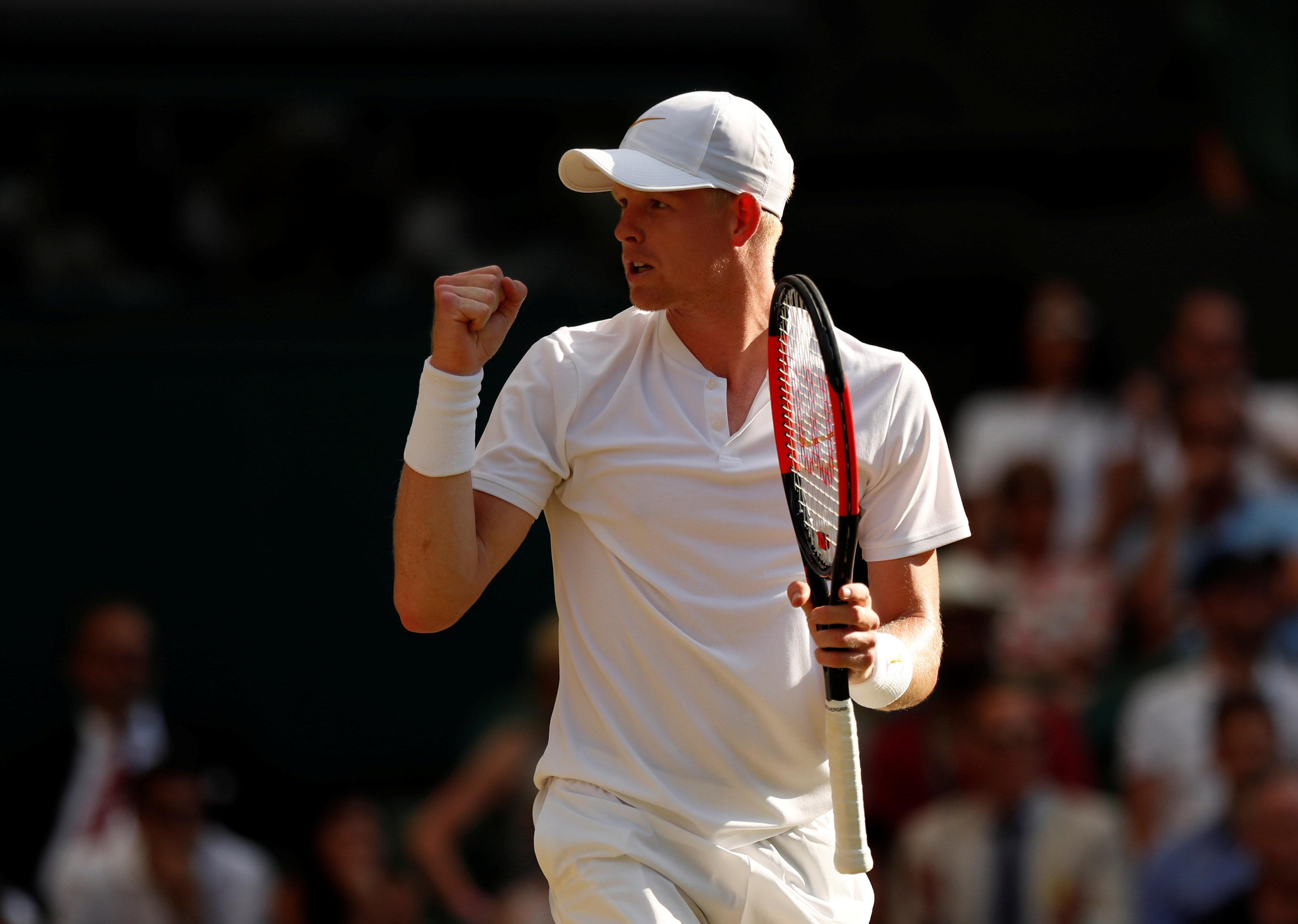British No1 Kyle Edmund has moved up one place to No16 in the world