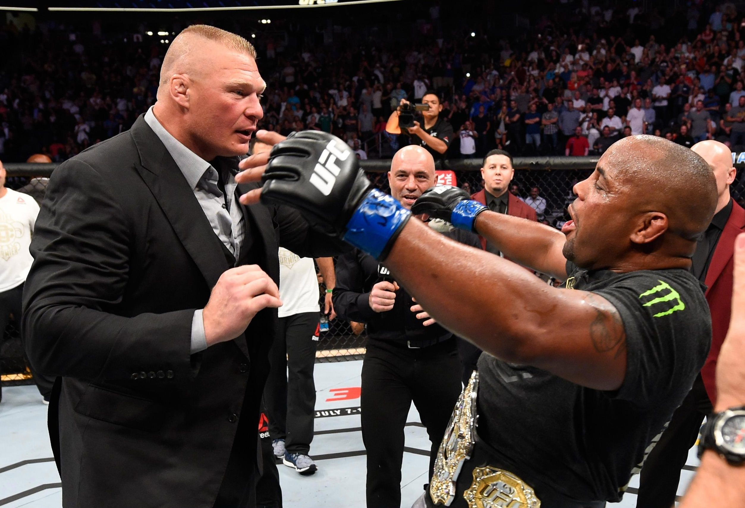 Brock Lesnar could fight Daniel Cormier as early as January