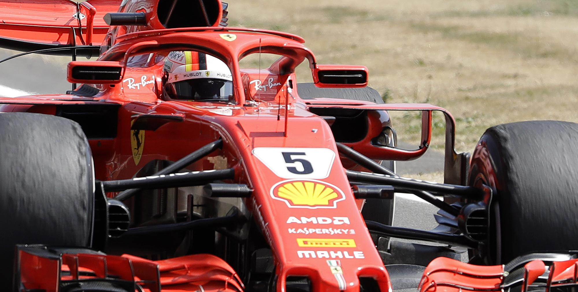 Seb Vettel claimed the British Grand Prix at Silverstone