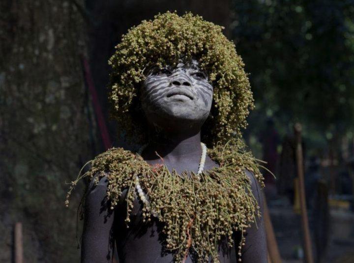 Artform of the indigenous Jaraw Andamanese people