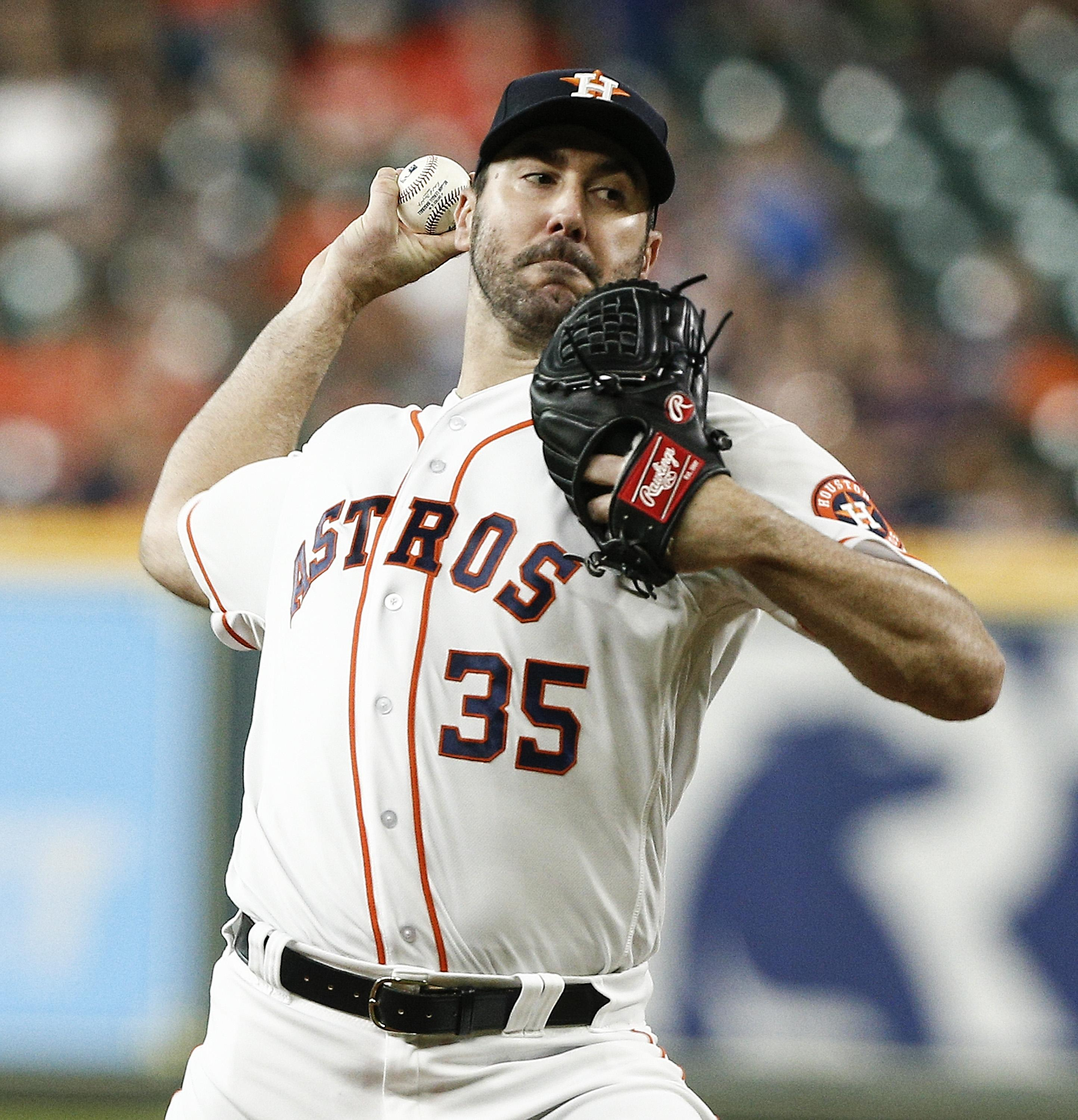 He made his name as the ace pitcher for the Detroit Tigers before being bought in 2017 by the Houston Astros