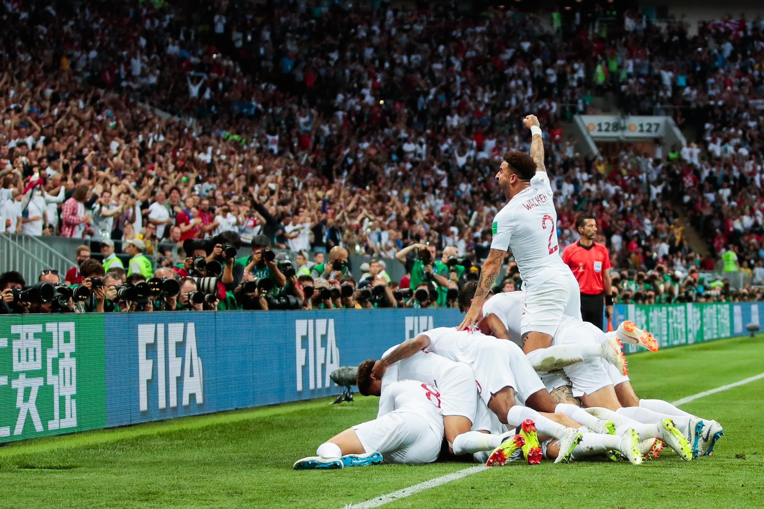 England reached the semi-finals of the World Cup and united the nation