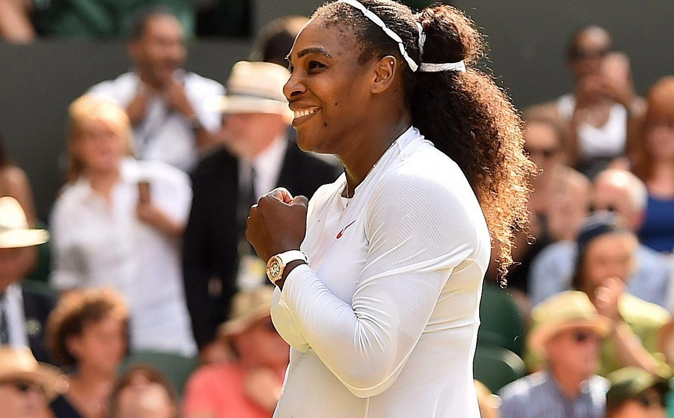 Serena Williams is targeting her 24th Grand Slam title after reaching the Wimbledon final