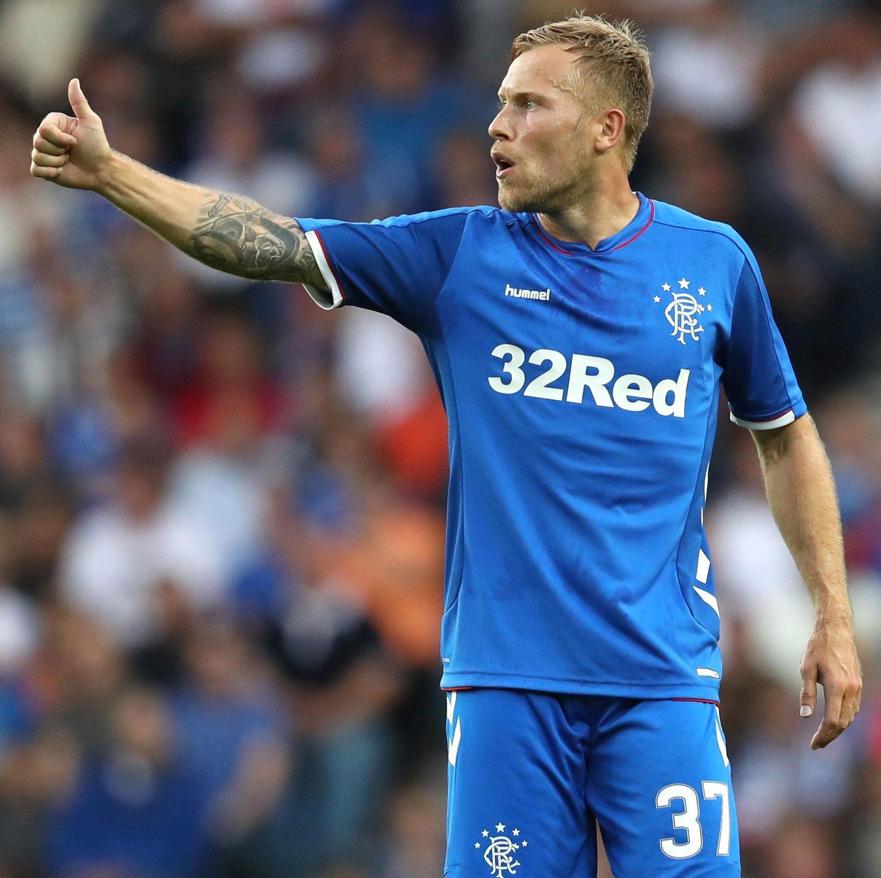 Scott Arfield could miss the Europa League trip