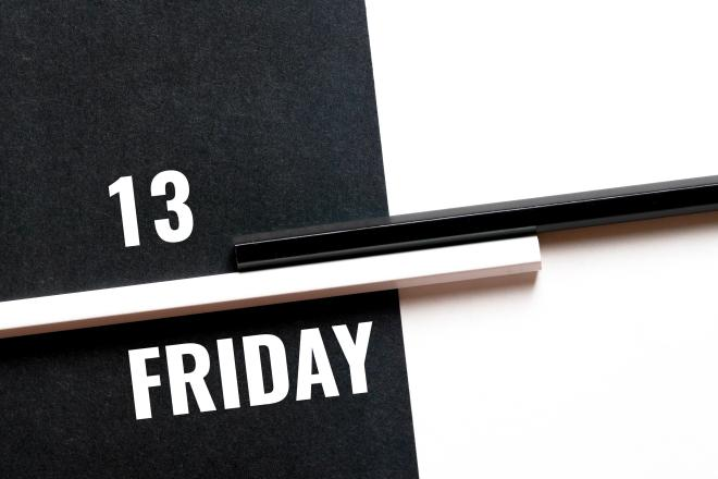 Friday the 13th has long been associated with negativity