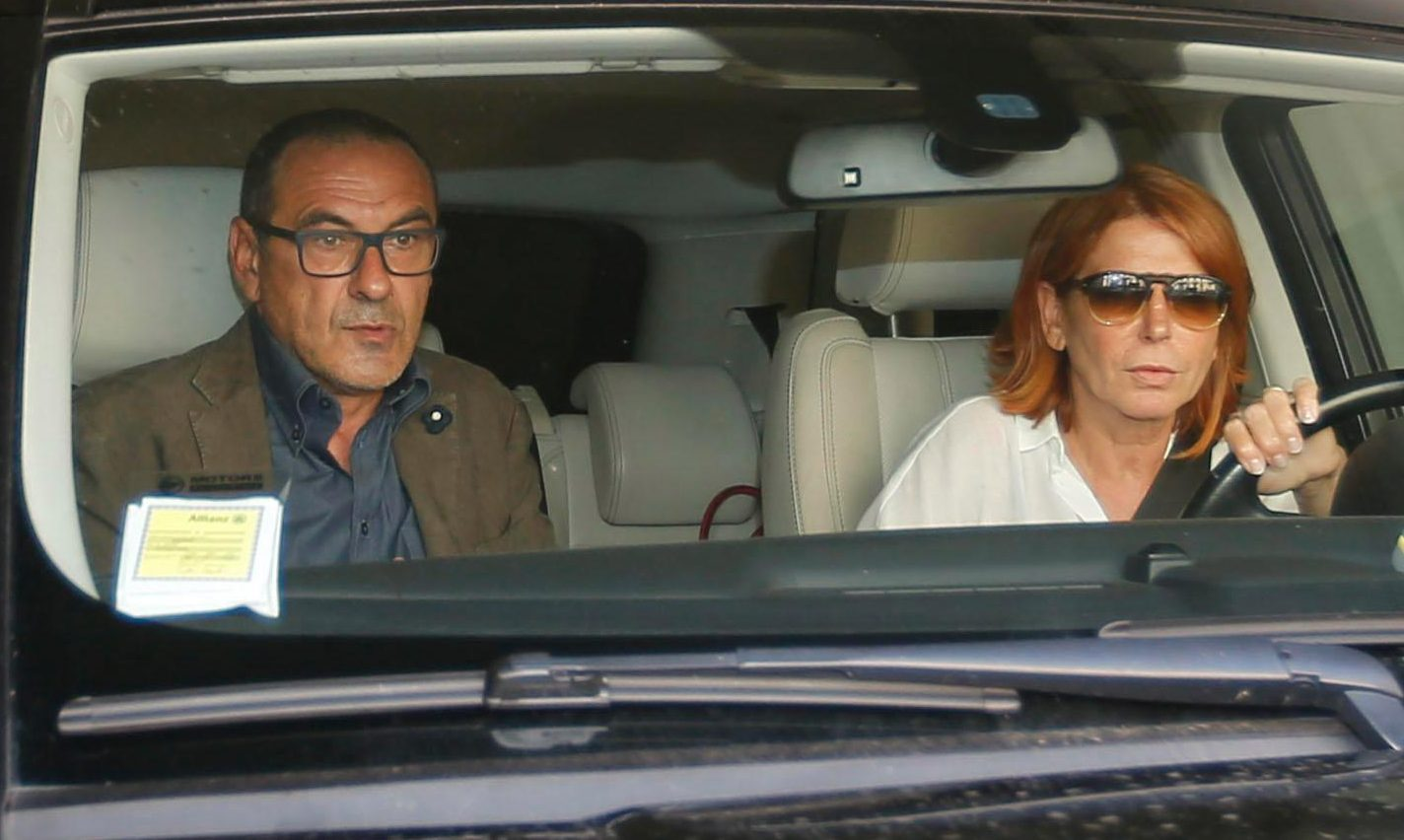 Sarri prefers the quiet life with his wife, Marina