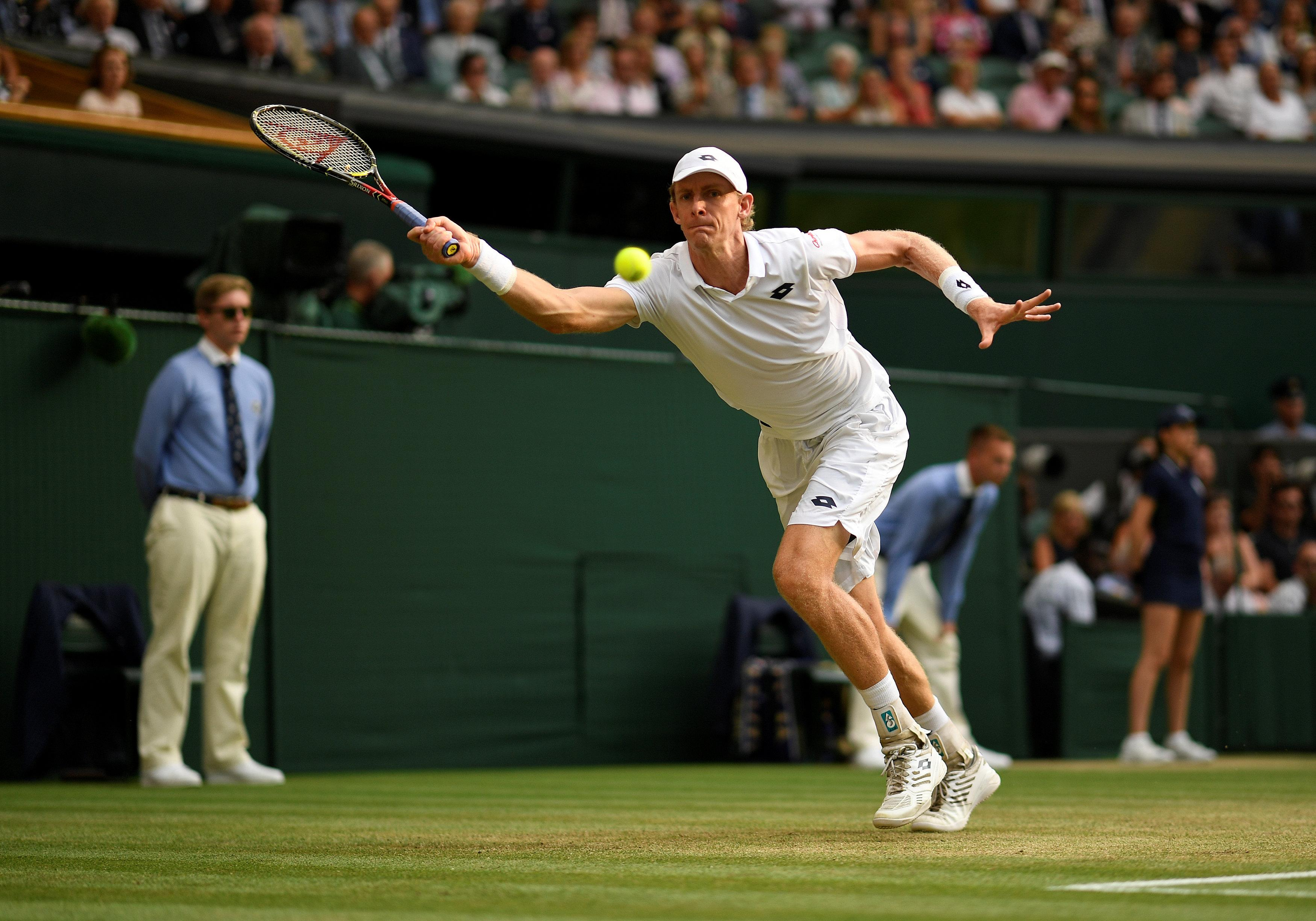 Kevin Anderson stretches every sinew as the extraordinary semi-final went deep into a fifth set