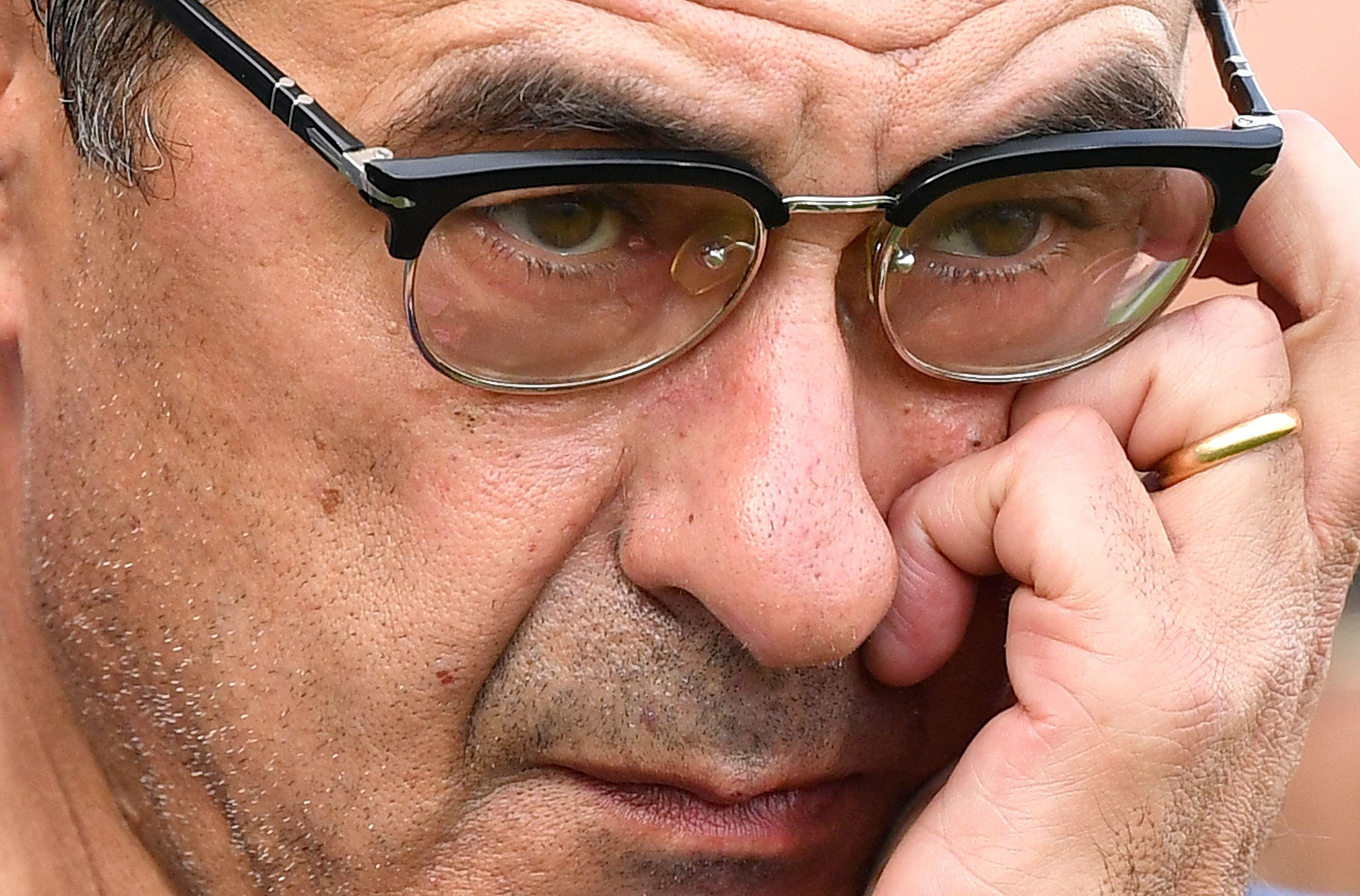 As coach of Empoli, Sarri once ordered his players to paint their white boots black for luck