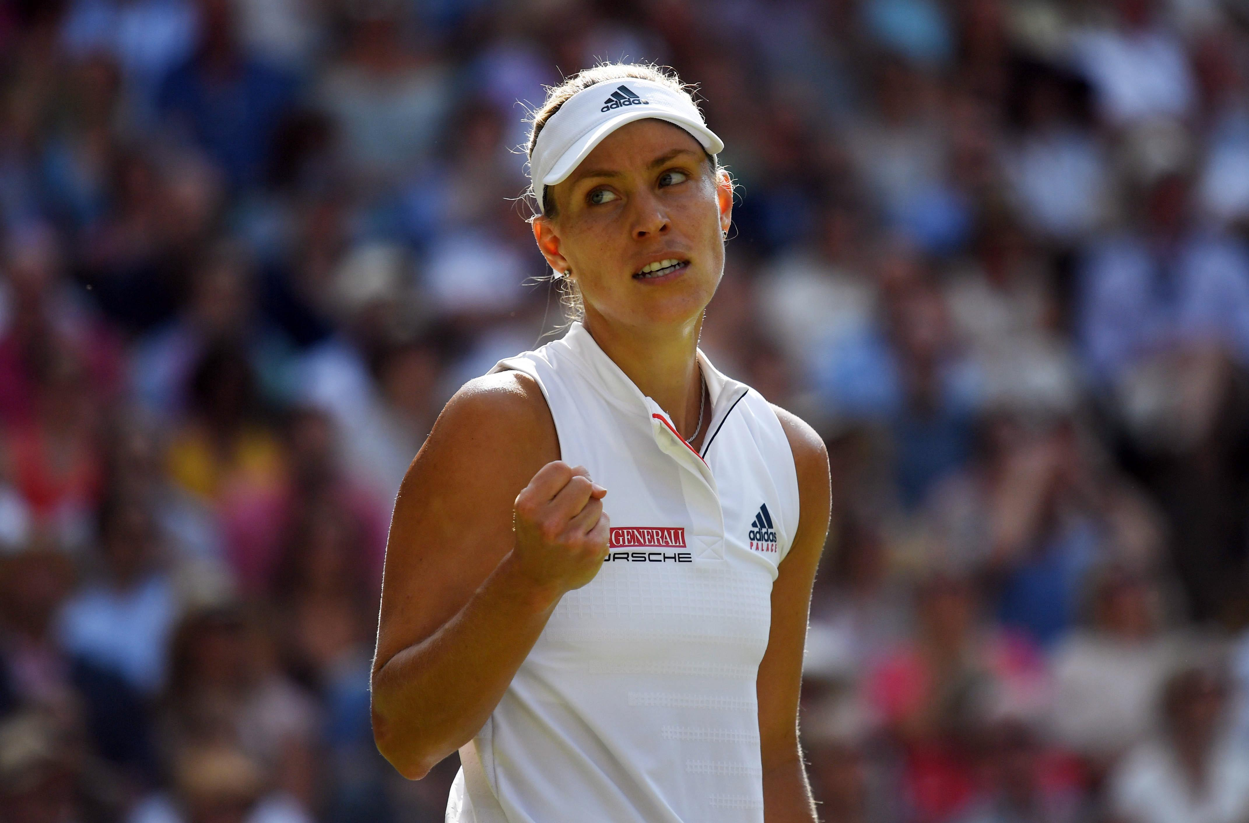 Angelique Kerber beat Serena Williams to be crowned Wimbledon champion