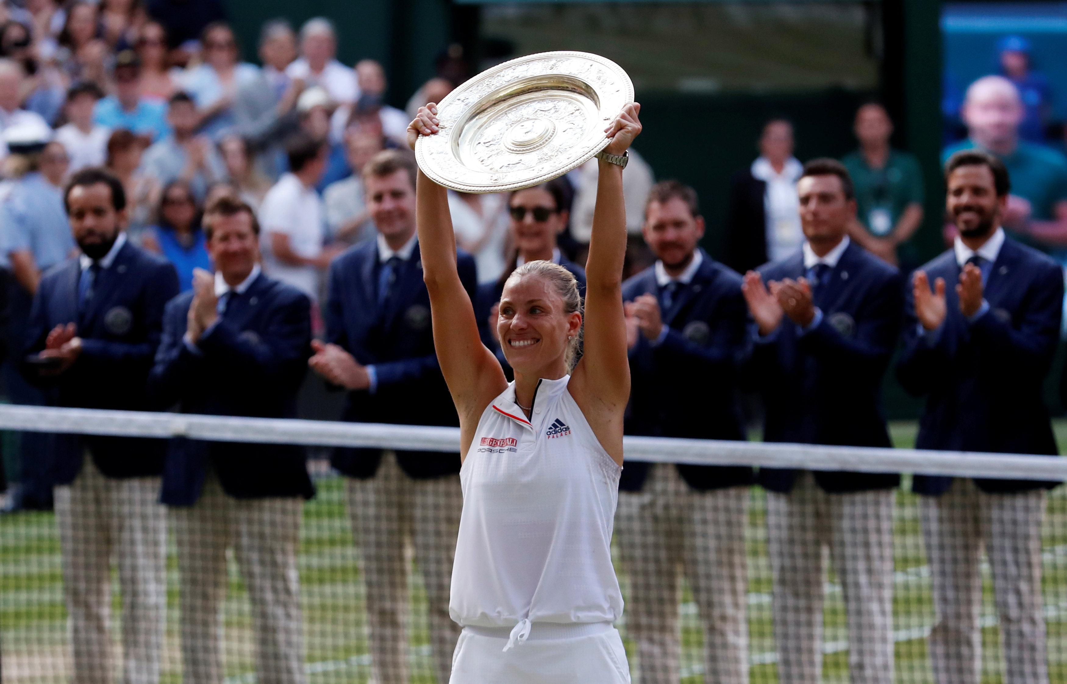 Angelique Kerber is Wimbledon champion after beating Serena Williams