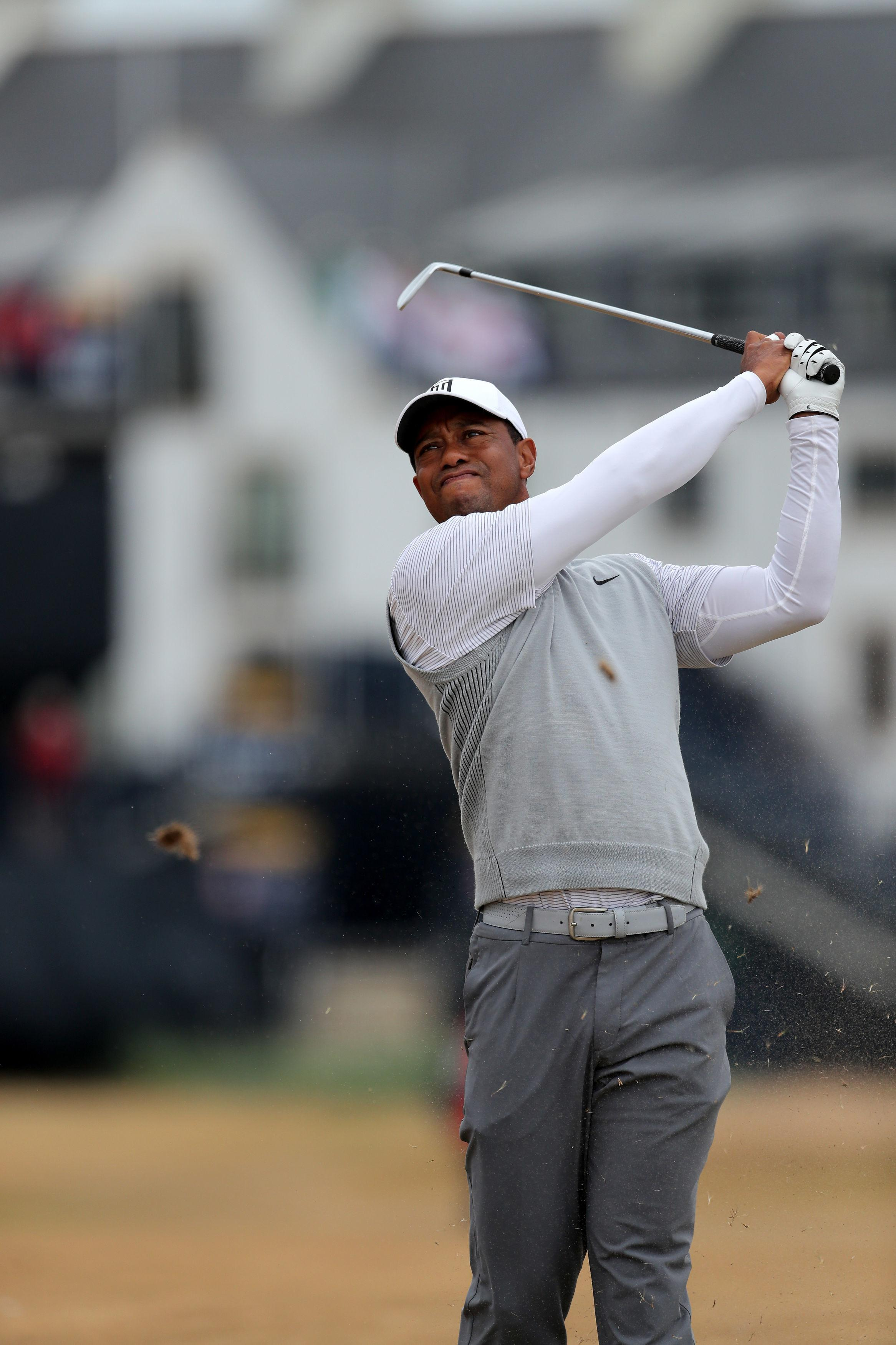 Woods, 42, has not won a Major since the 2008 US Open
