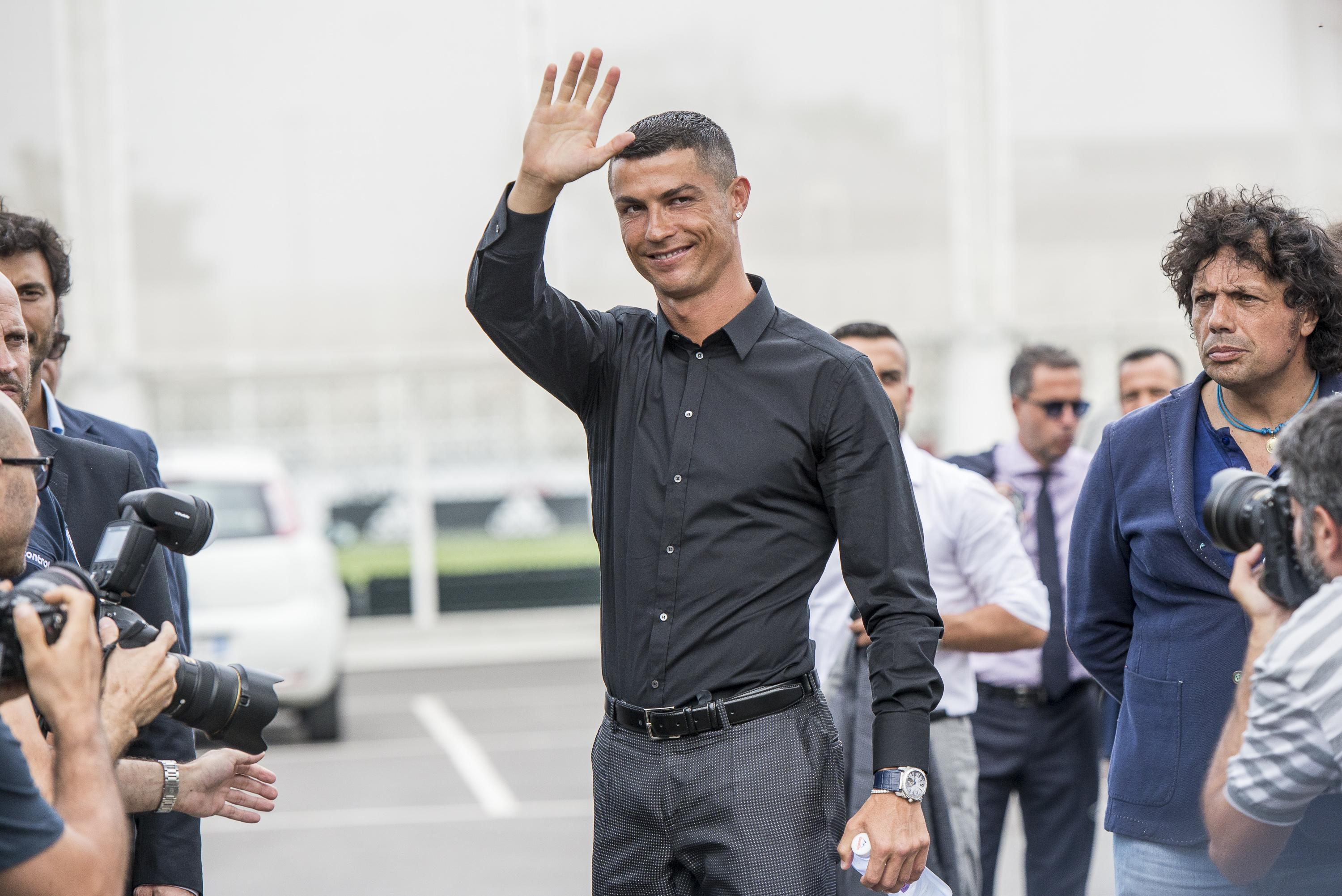 Juventus are doing everything they can to show off their new arrival