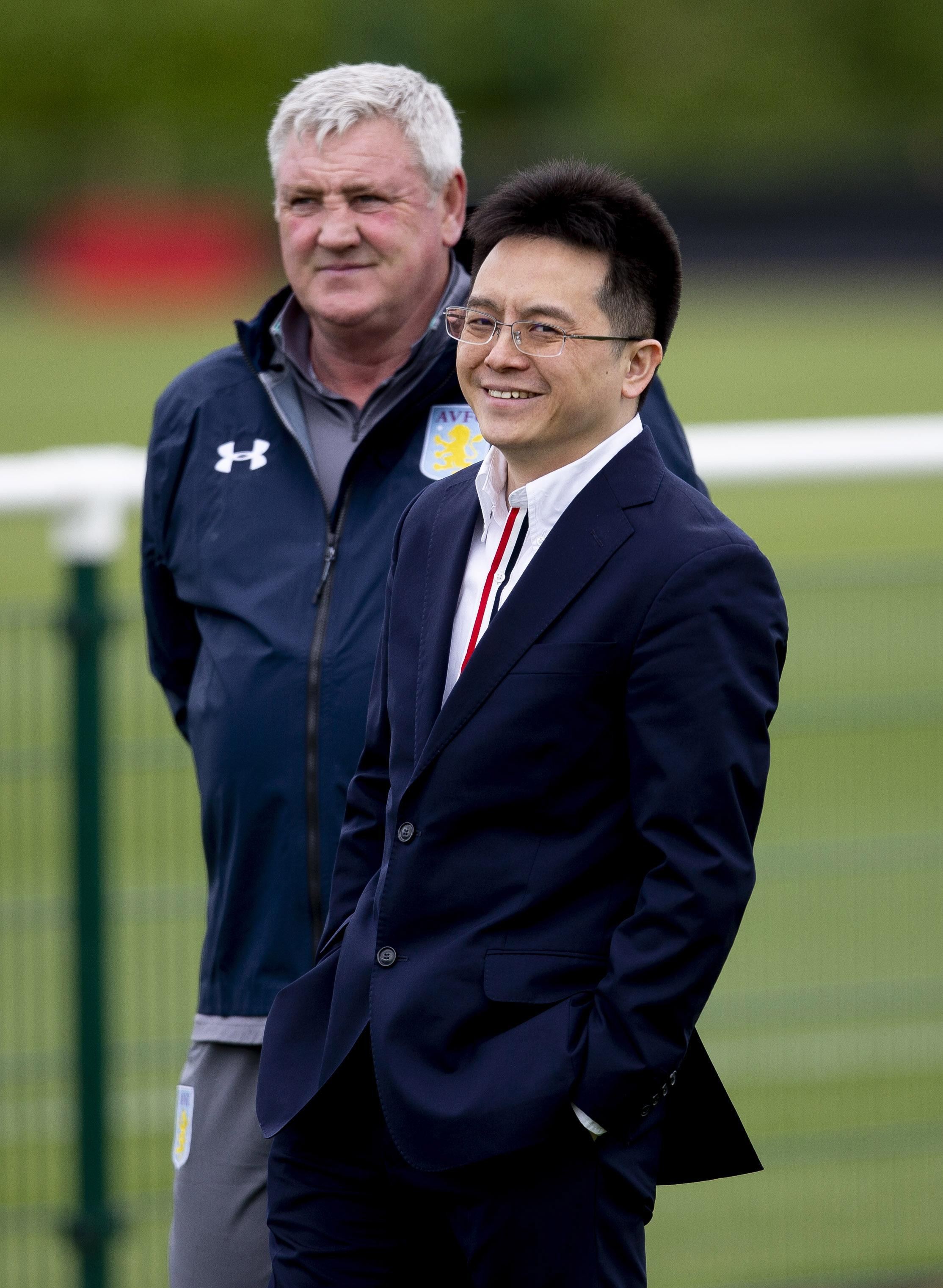 Bruce and Xia both arrived at Villa in the summer of 2016, but they could now be following one another out of the exit door
