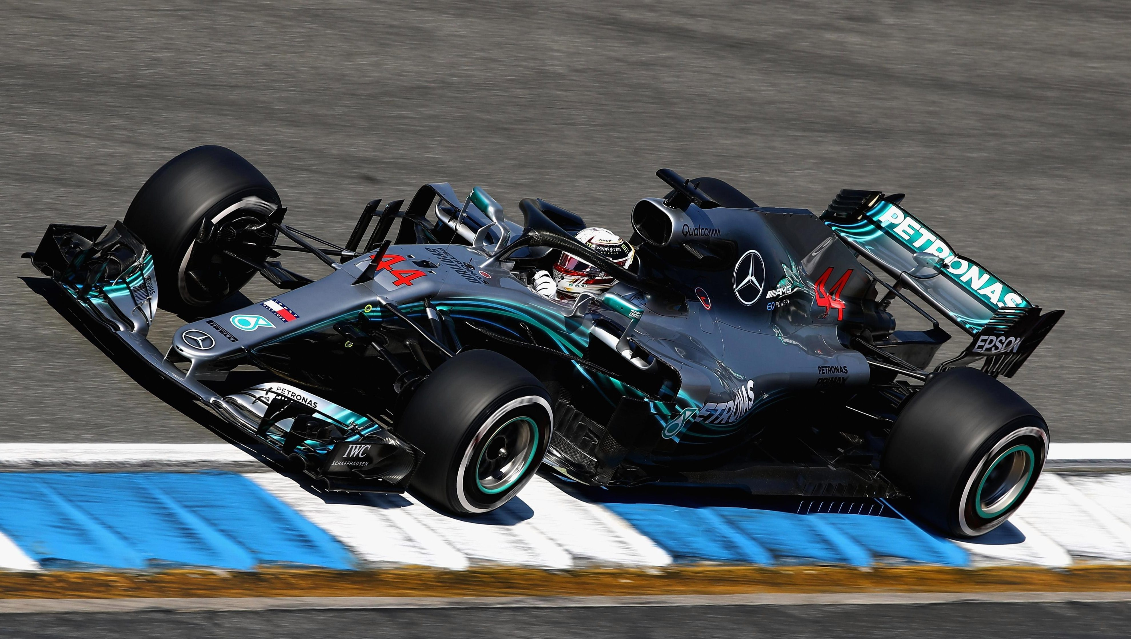 Lewis Hamilton was second in the British GP but has warmed up well in Hockenheim for the German GP this Sunday