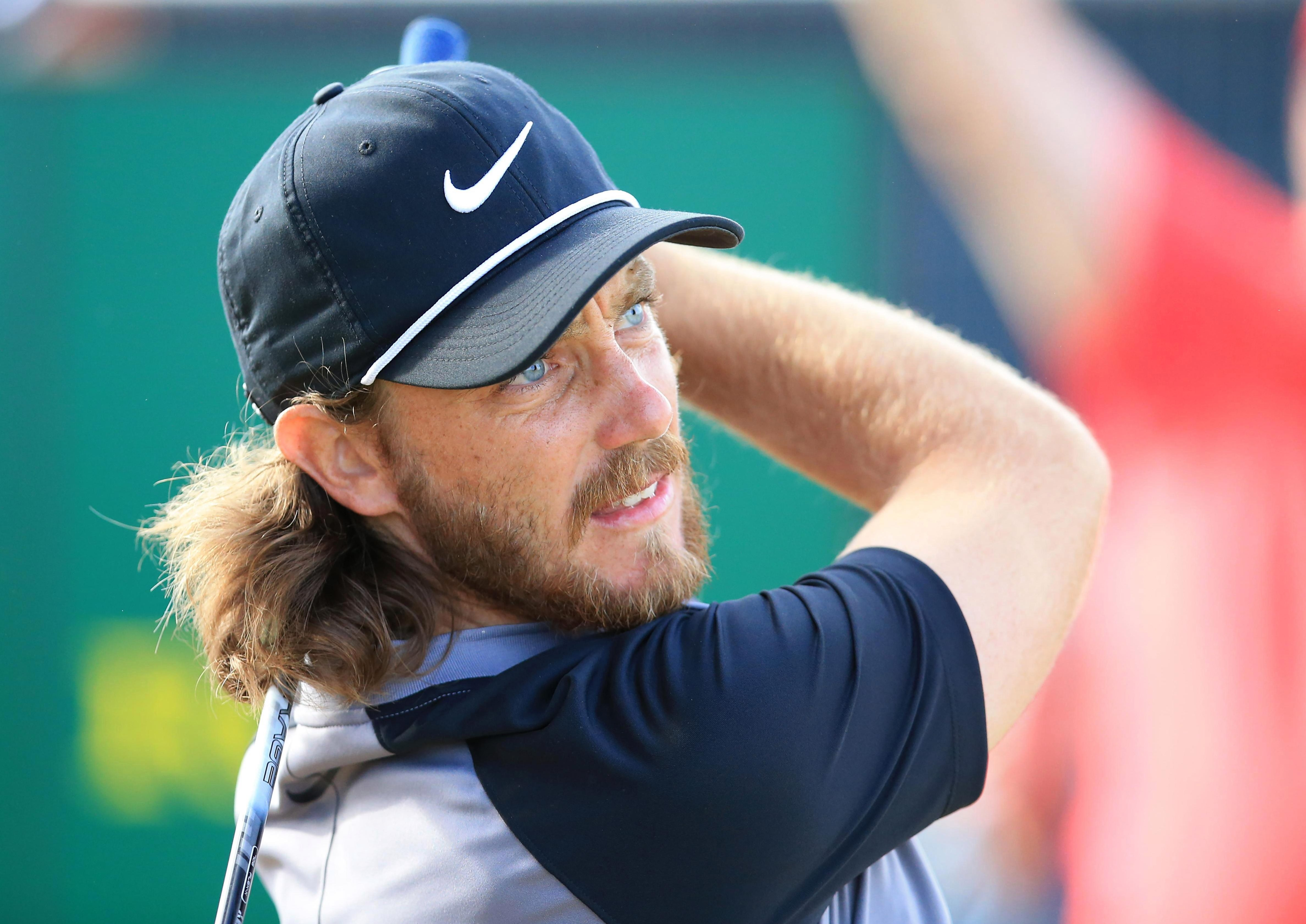 Tommy Fleetwood still has a chance, lying four shots off the three leaders