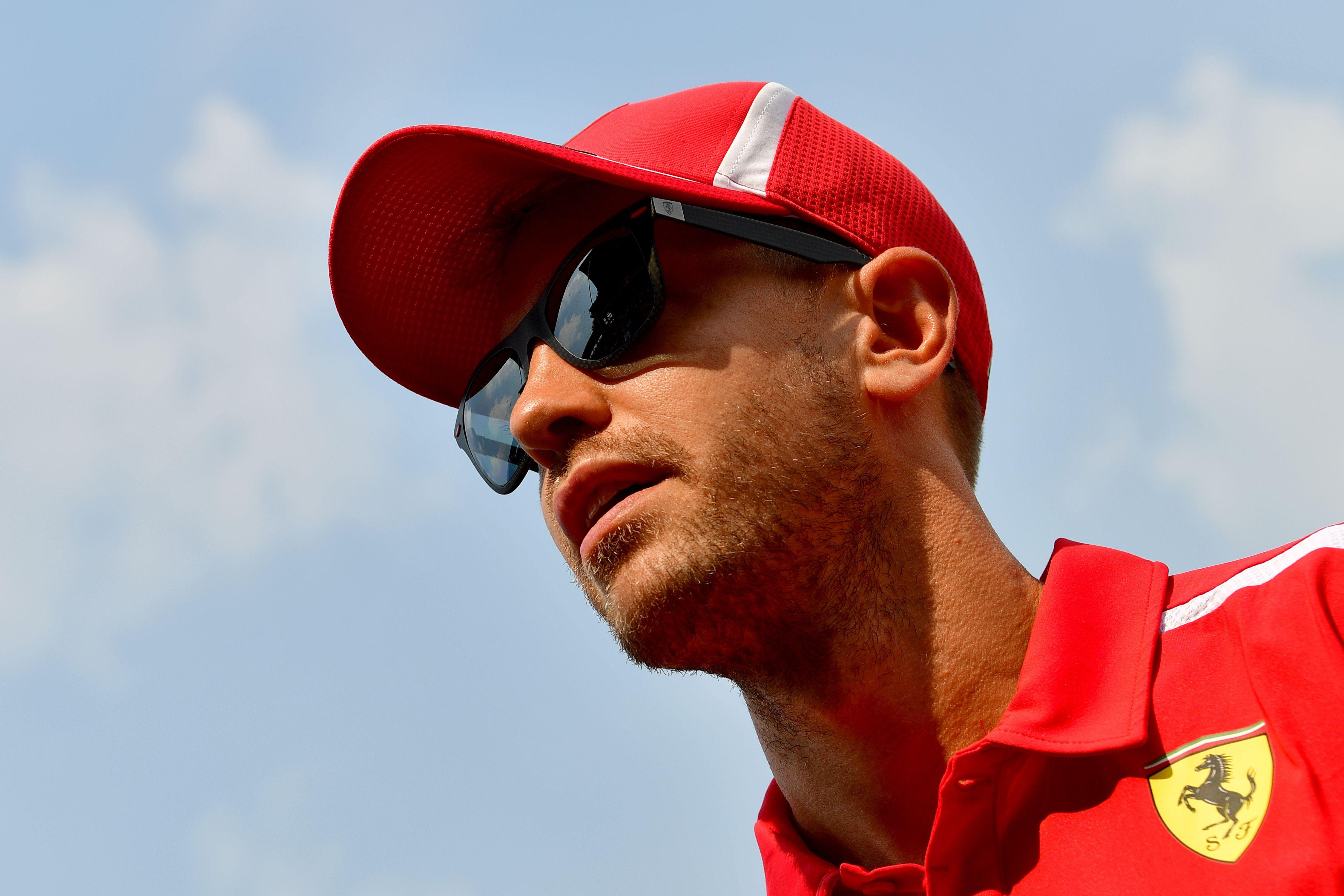 Vettel's crash sees the German relinquished his lead at the top of the Drivers' Championships