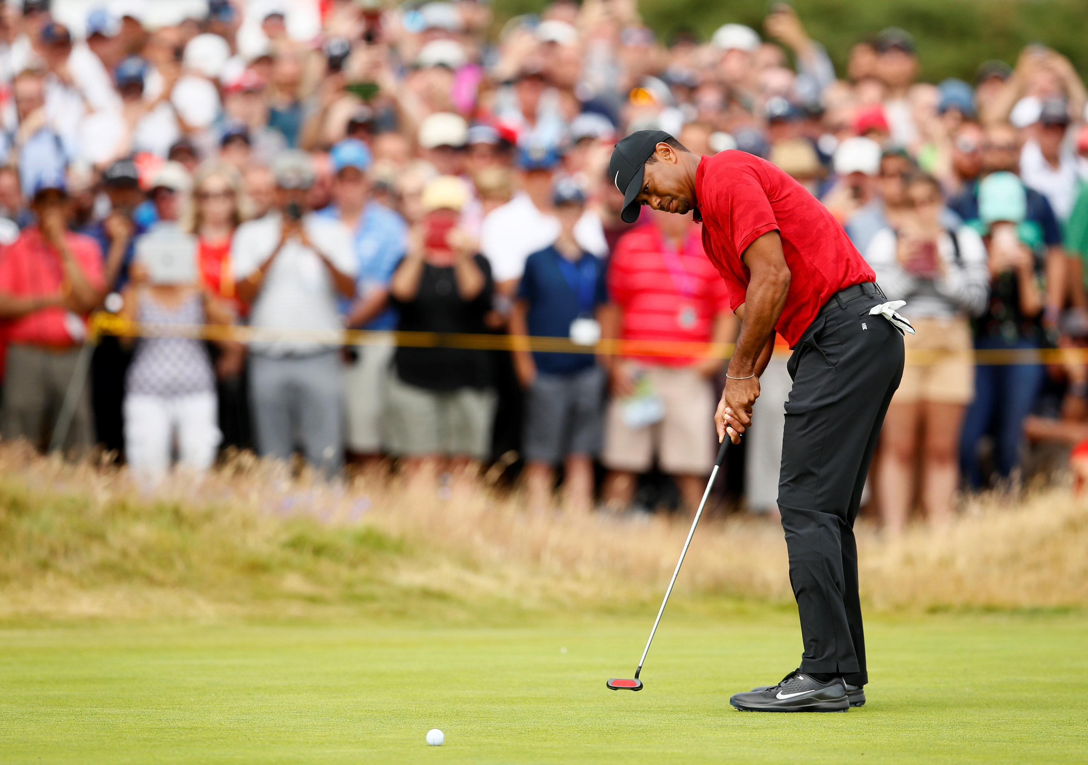 Woods will be looking to carry on his fine form in next month's PGA Championship