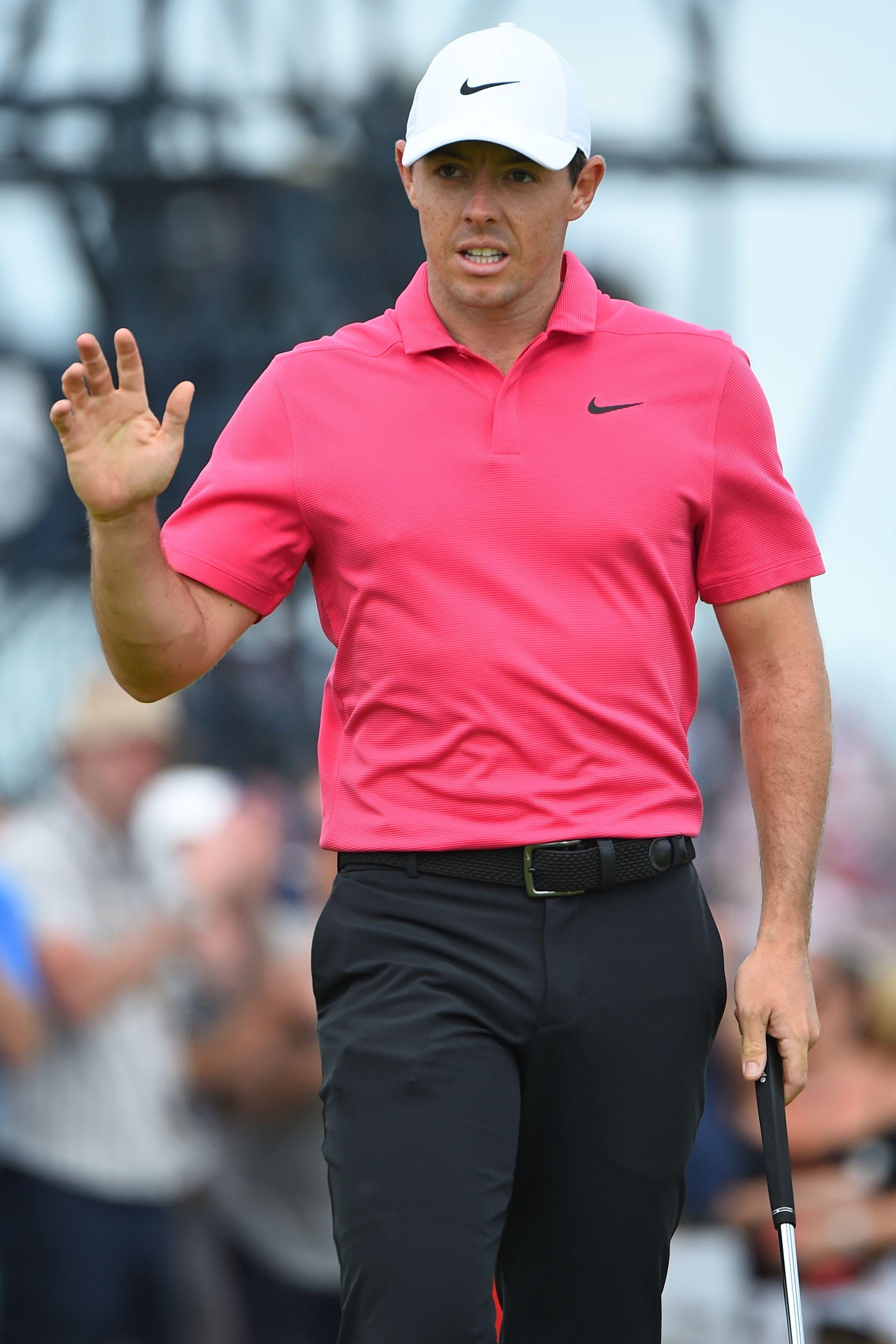 McIlroy finished tied for second at Carnoustie on six under par