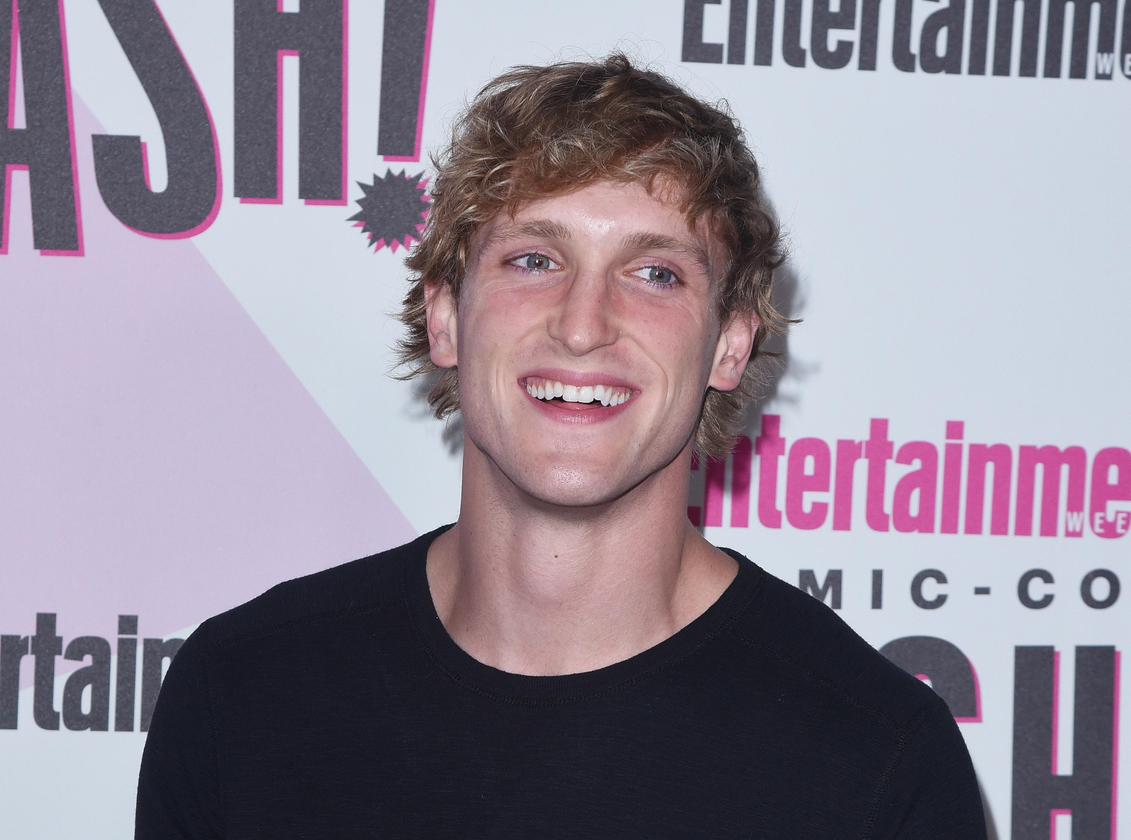"Logan Paul caused controversy on YouTube for filming himself in the ""suicide forest"" in Japan"