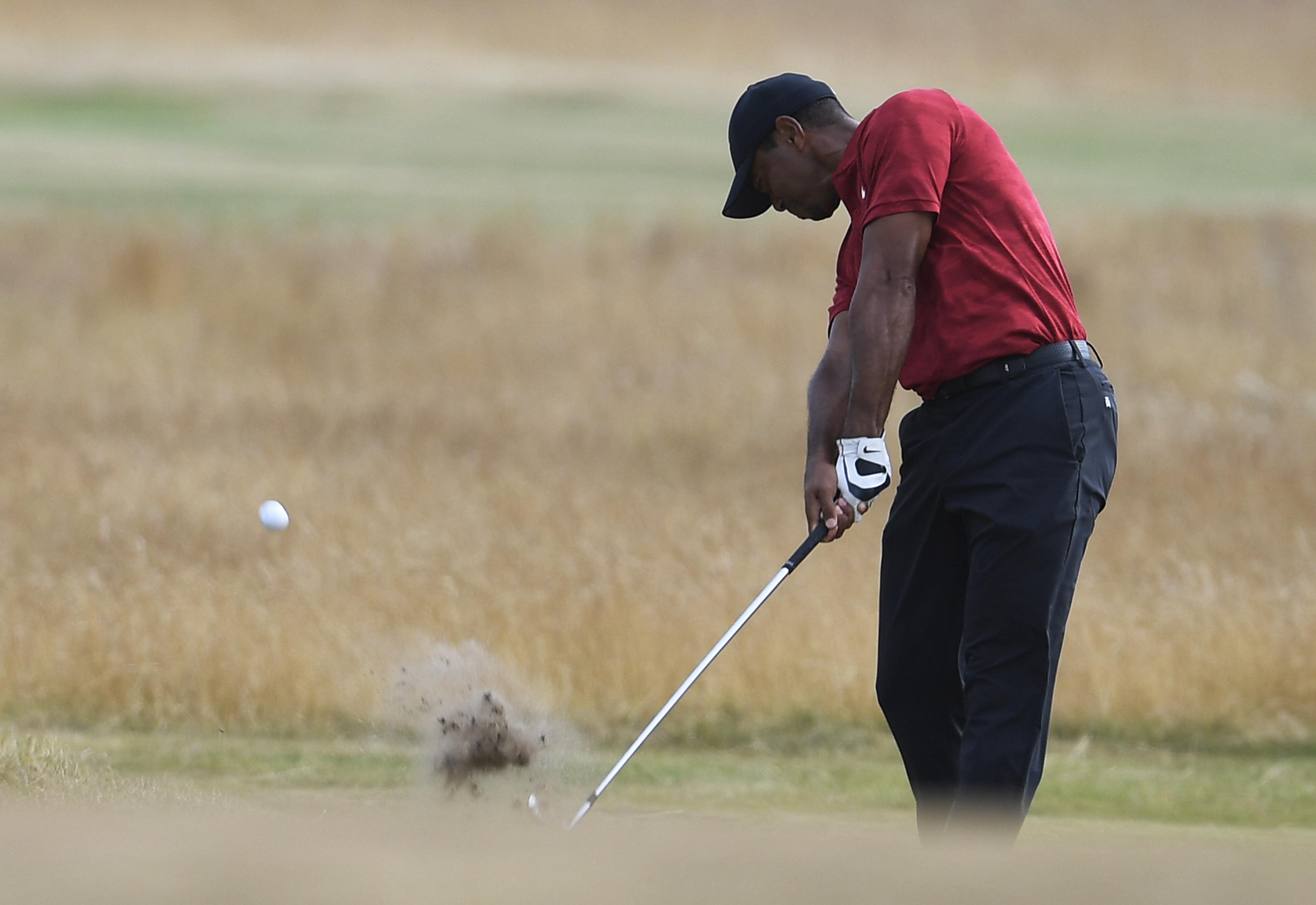 Woods, 42, has broken into the top 50 in the world rankings following his T6 finish