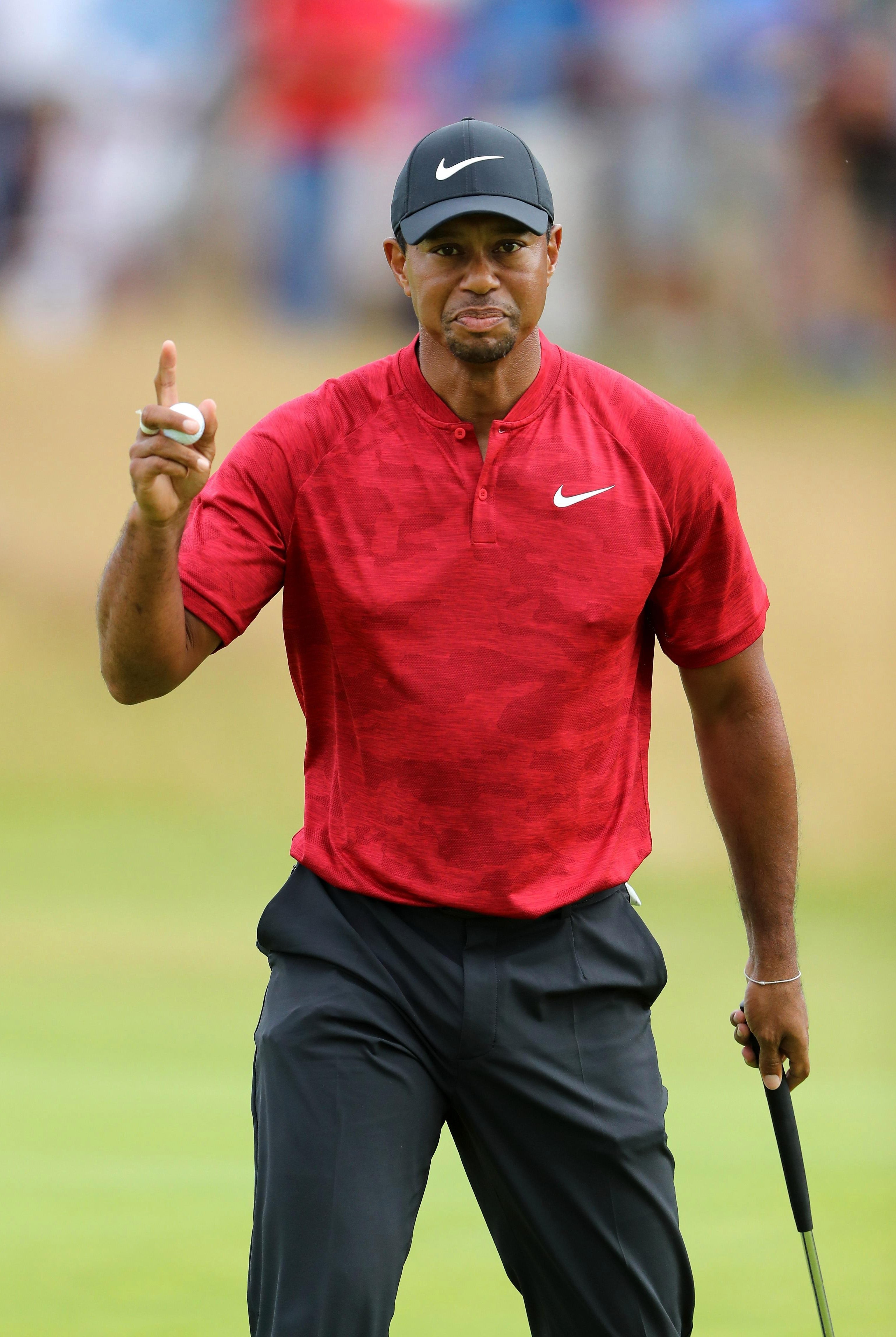 Woods was a shot further back of McIlroy on five under