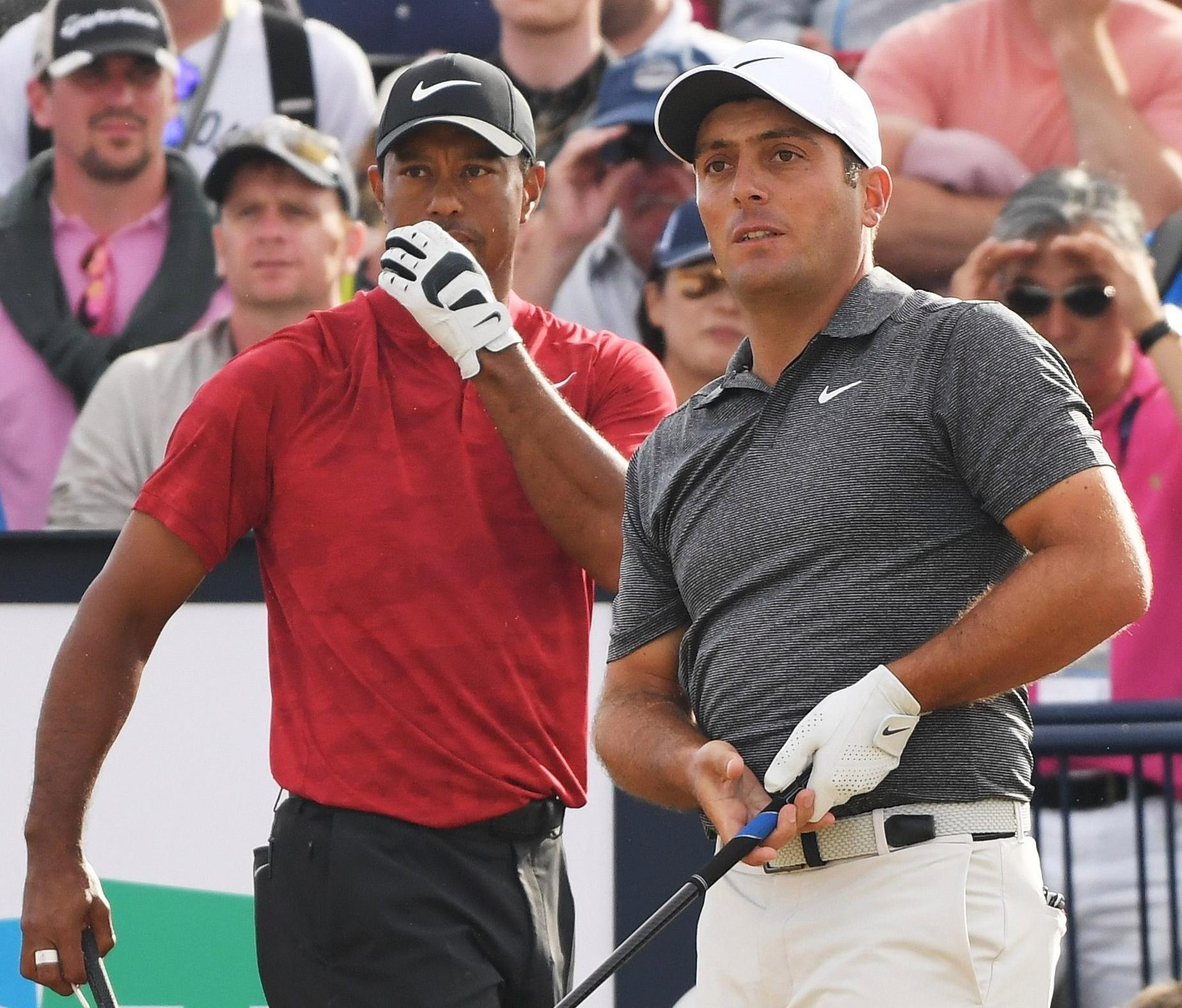 New Italian hero Francesco Molinari won by two shots but Tiger Woods looked a man on a mission during the first nine holes of the final round at Carnoustie