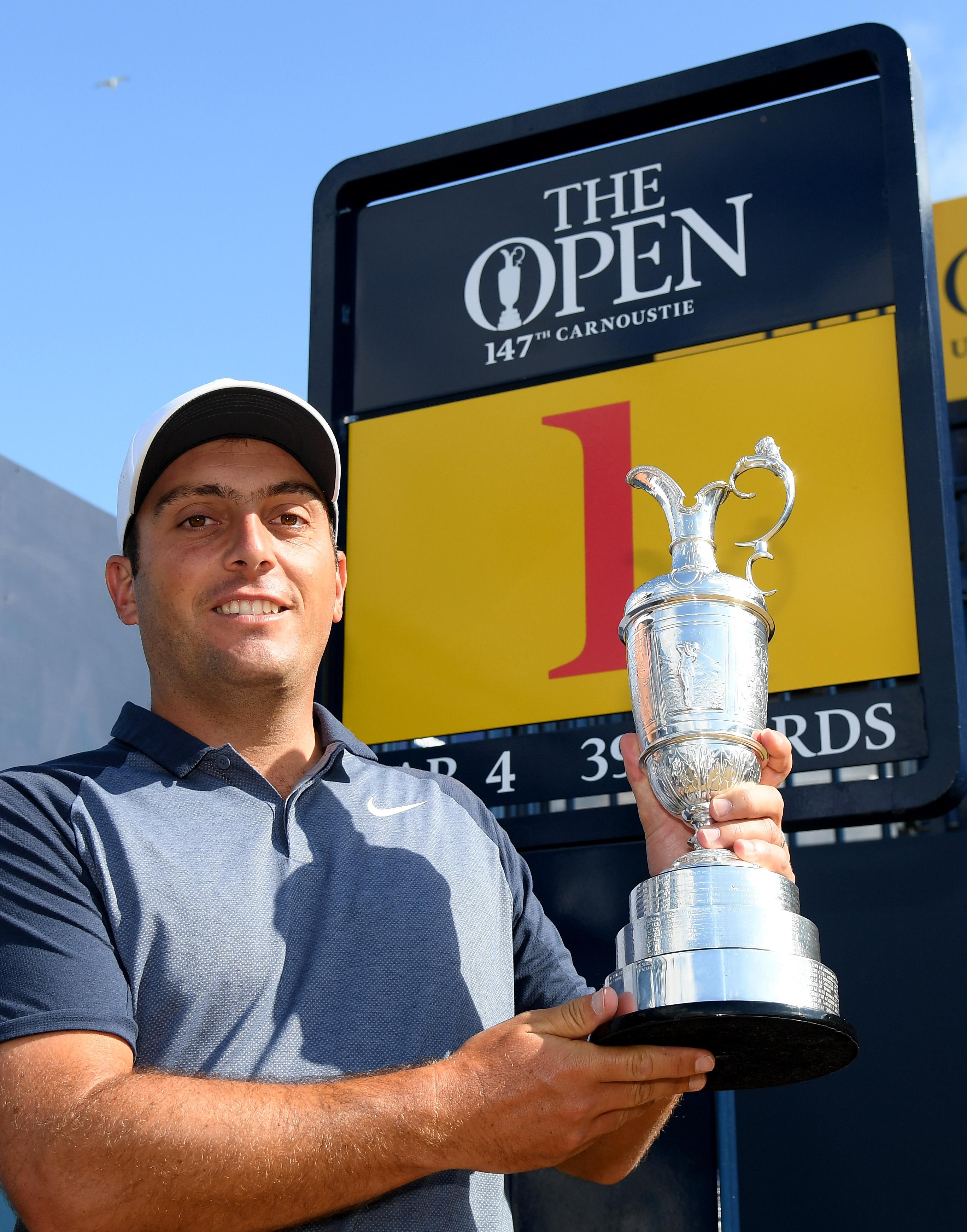 Molinari became the first Italian to win a major