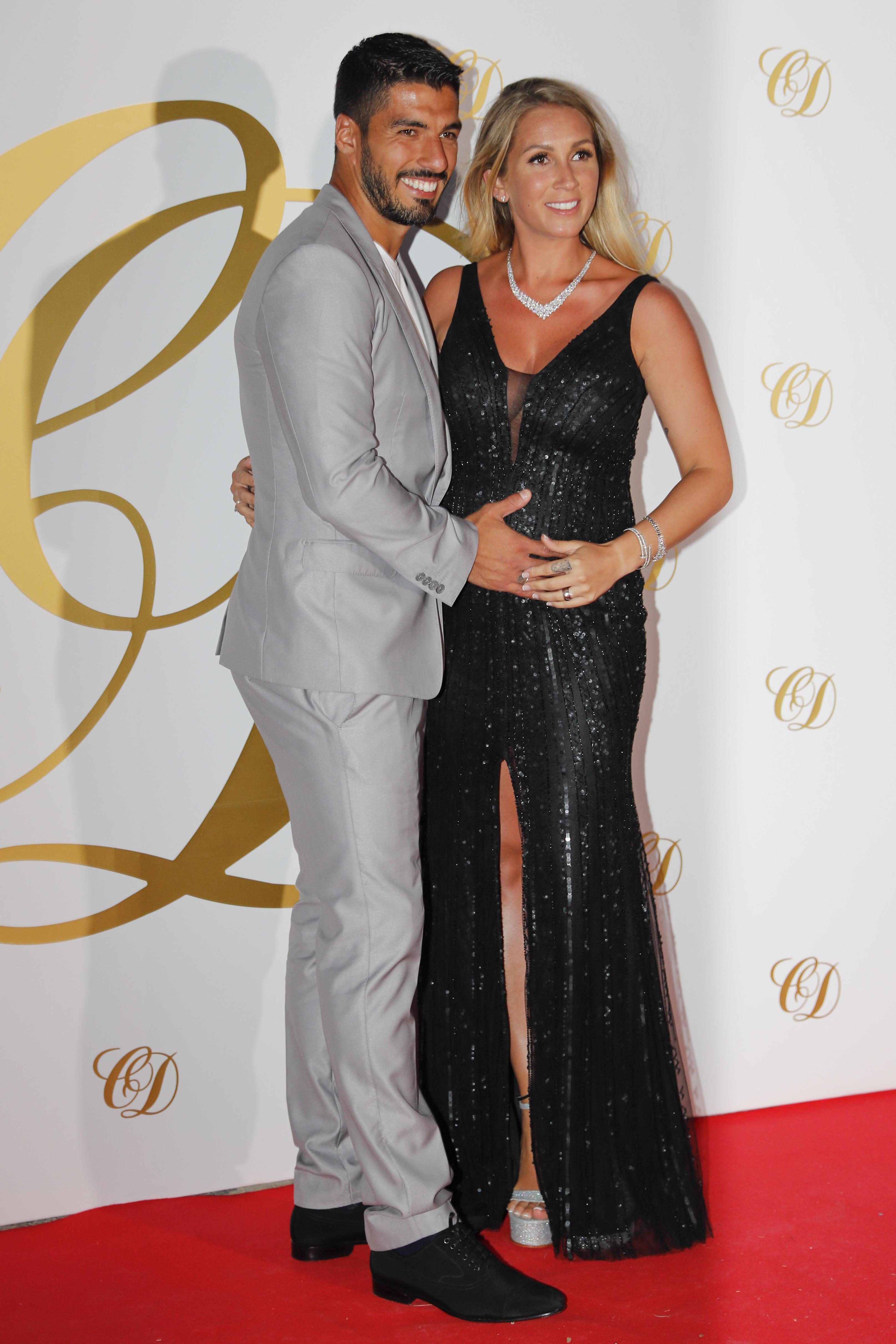 Luis Suarez and wife Sofia Balbi are close friends with Cesc Fabregas and Daniella Semaan