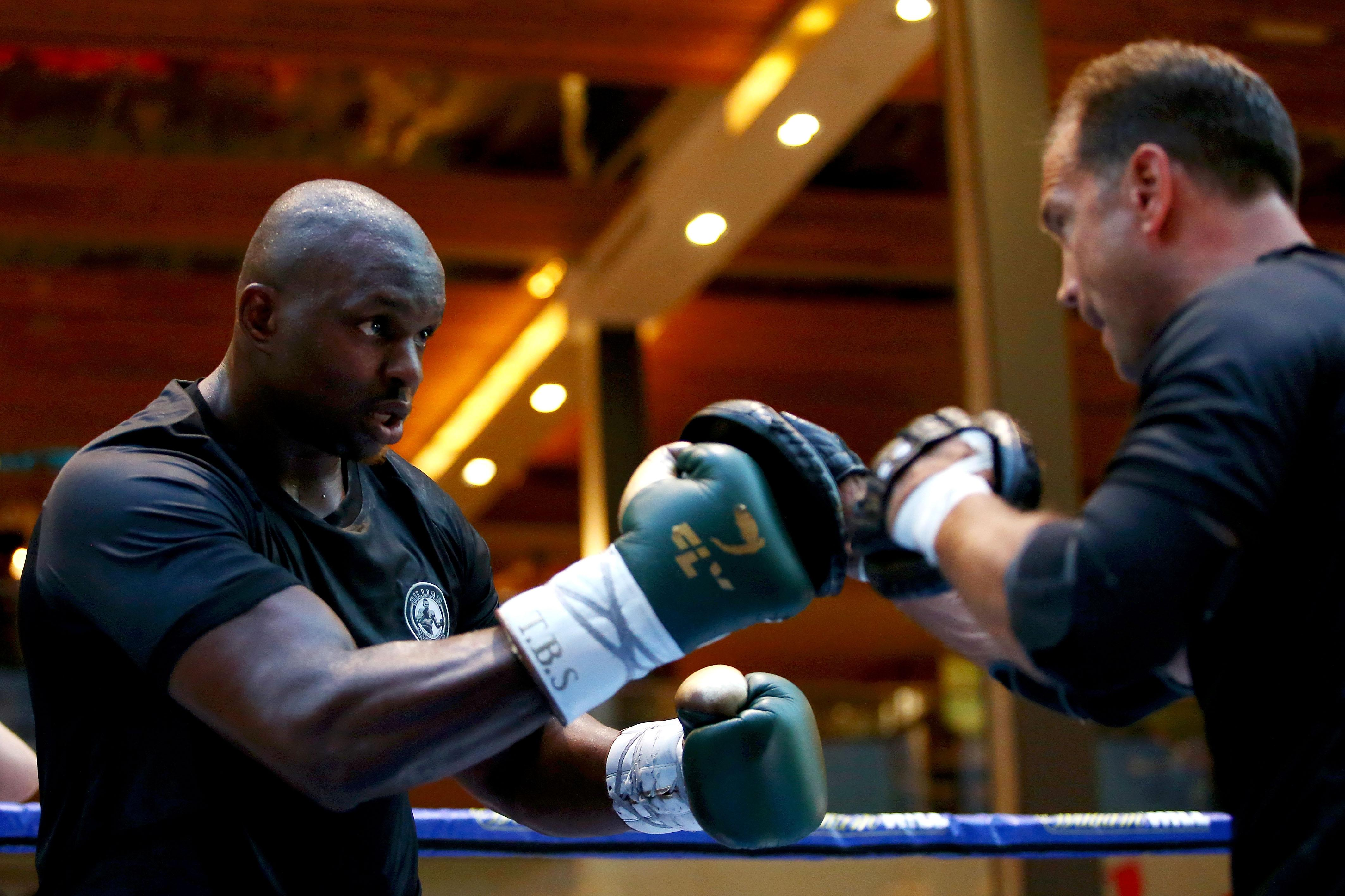 The Brixton heavyweight takes on Joseph Parker at the O2 Arena on Saturday