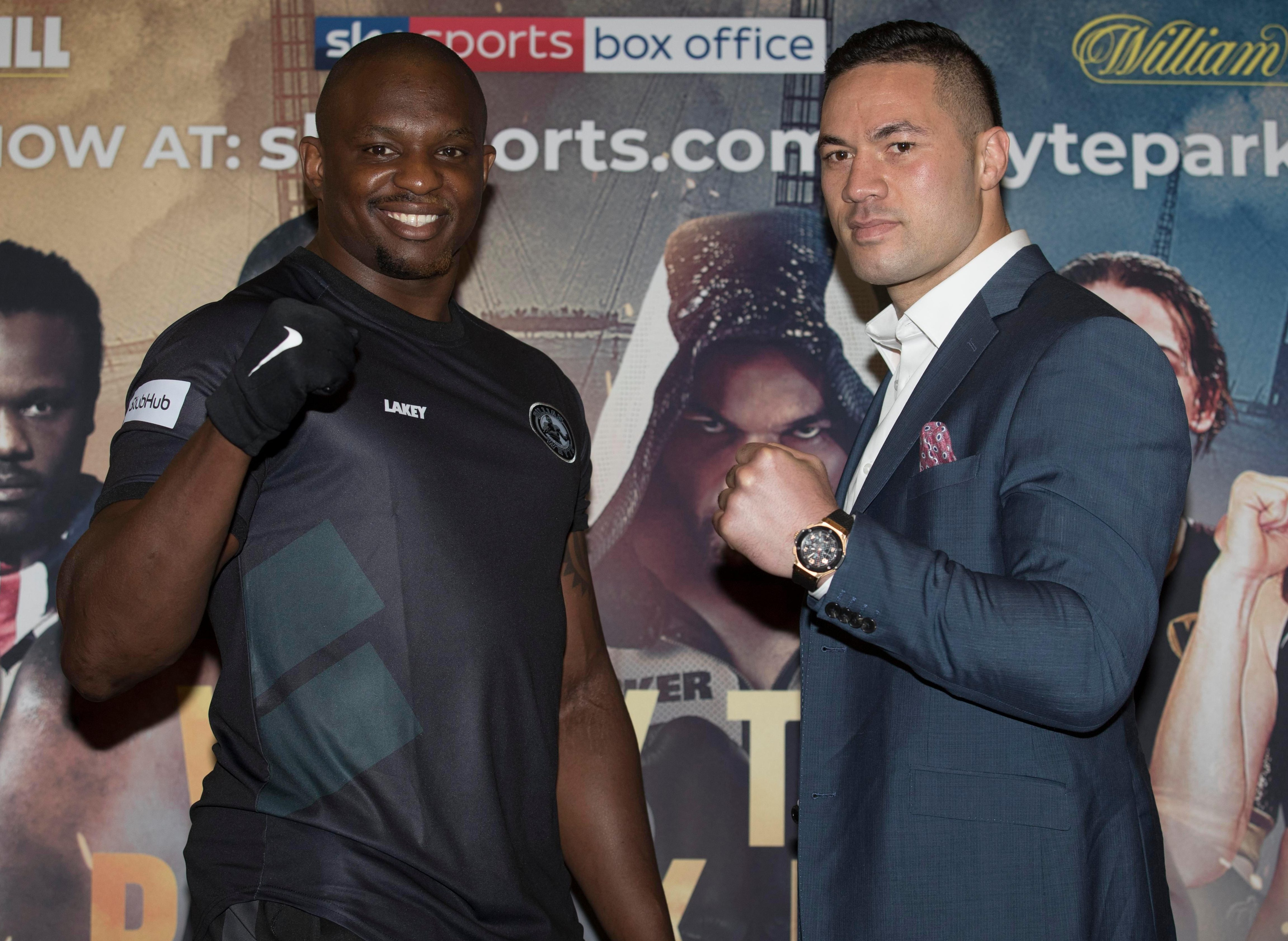 The winner between Dillian Whyte and Joseph Parker could well get a world title shot against Anthony Joshua or Deontay Wilder